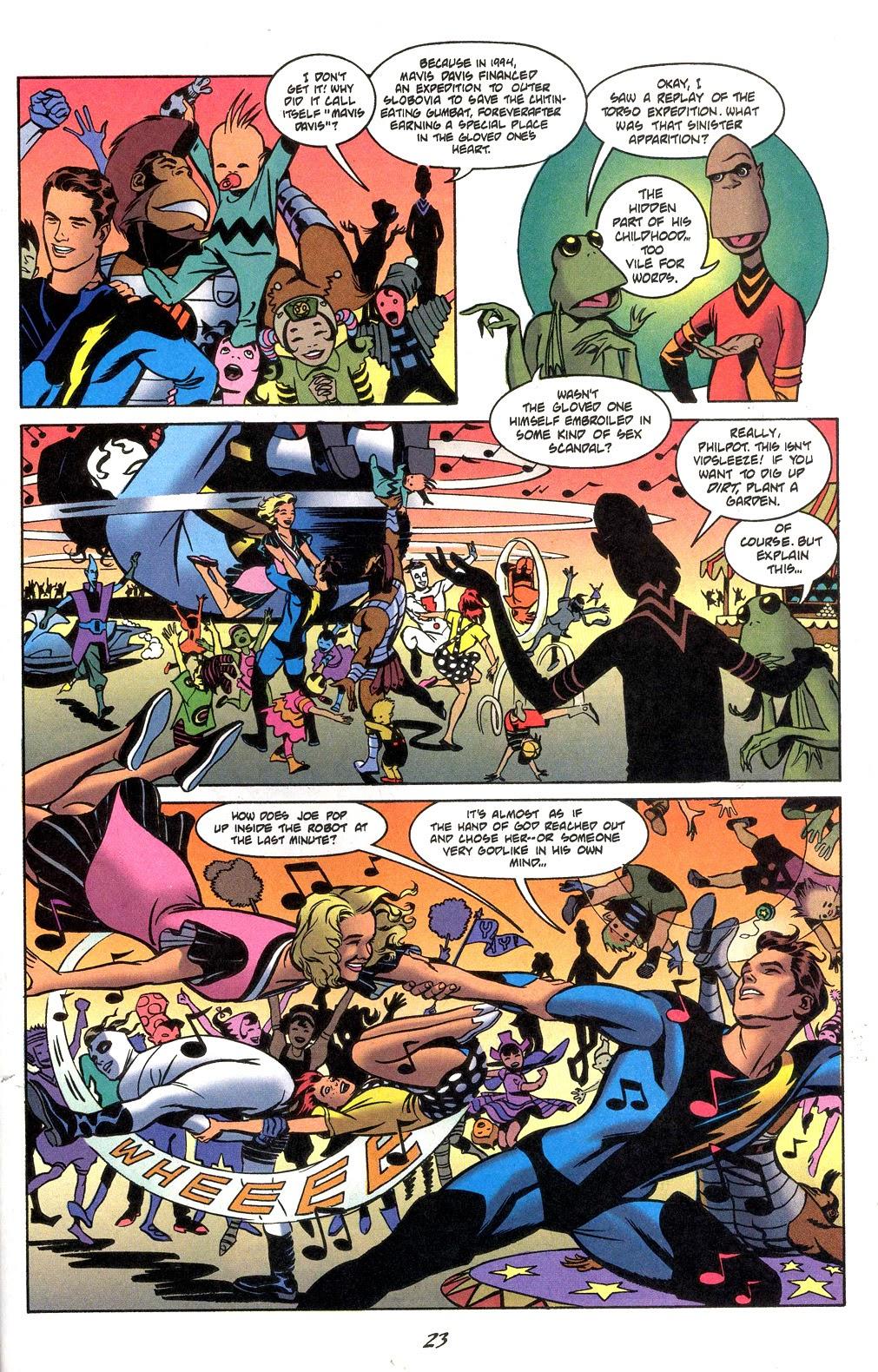 Read online Nexus Meets Madman comic -  Issue # Full - 25