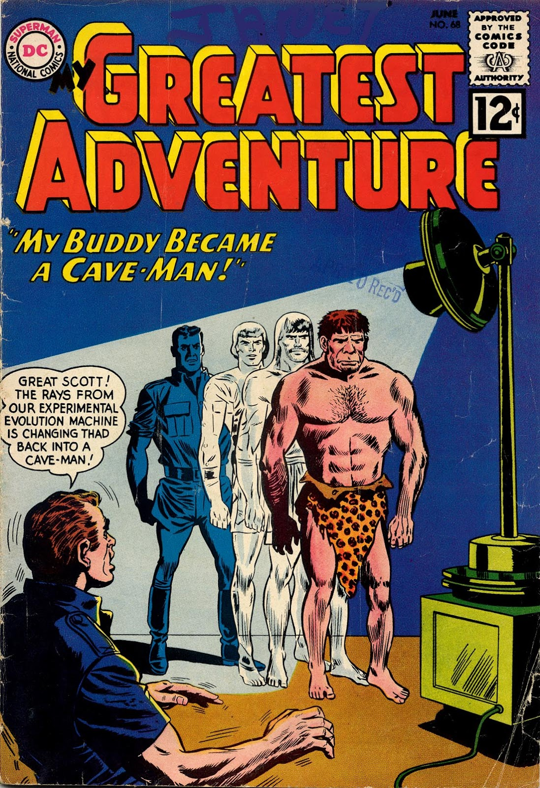 My Greatest Adventure (1955) 68 Page 1