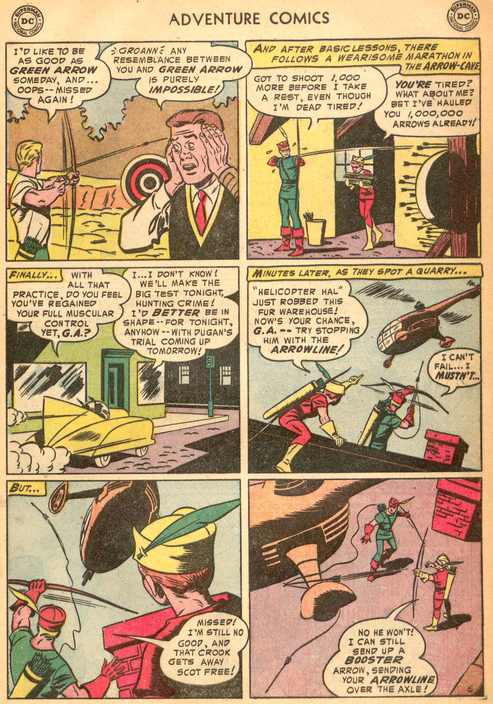 Read online Adventure Comics (1938) comic -  Issue #200 - 39