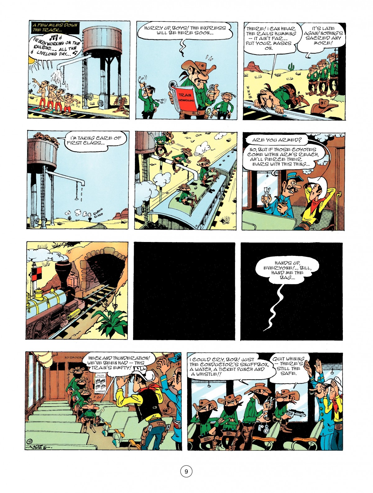 Read online A Lucky Luke Adventure comic -  Issue #47 - 9