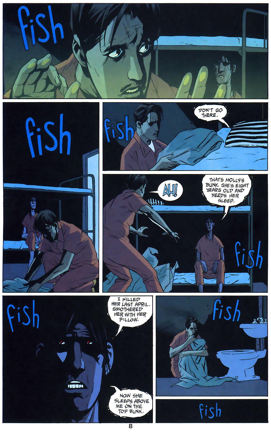 Read online Arkham Asylum: Living Hell comic -  Issue #1 - 10