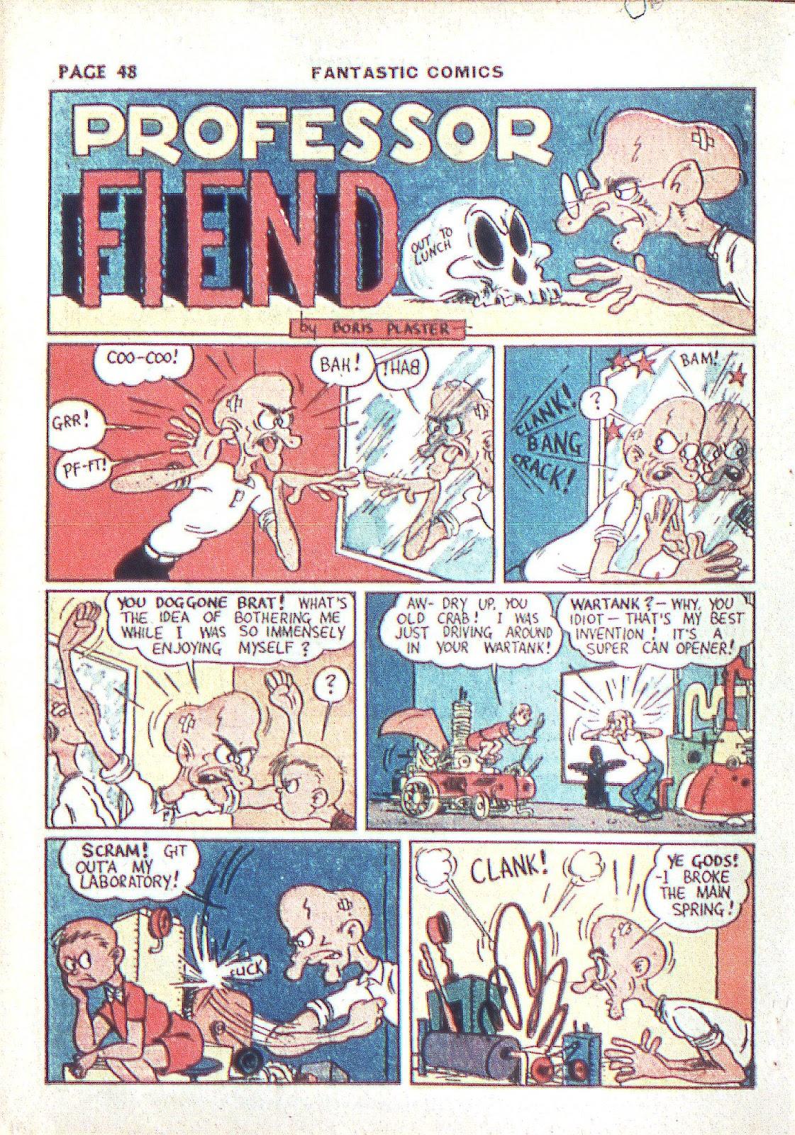 Read online Fantastic Comics comic -  Issue #3 - 50