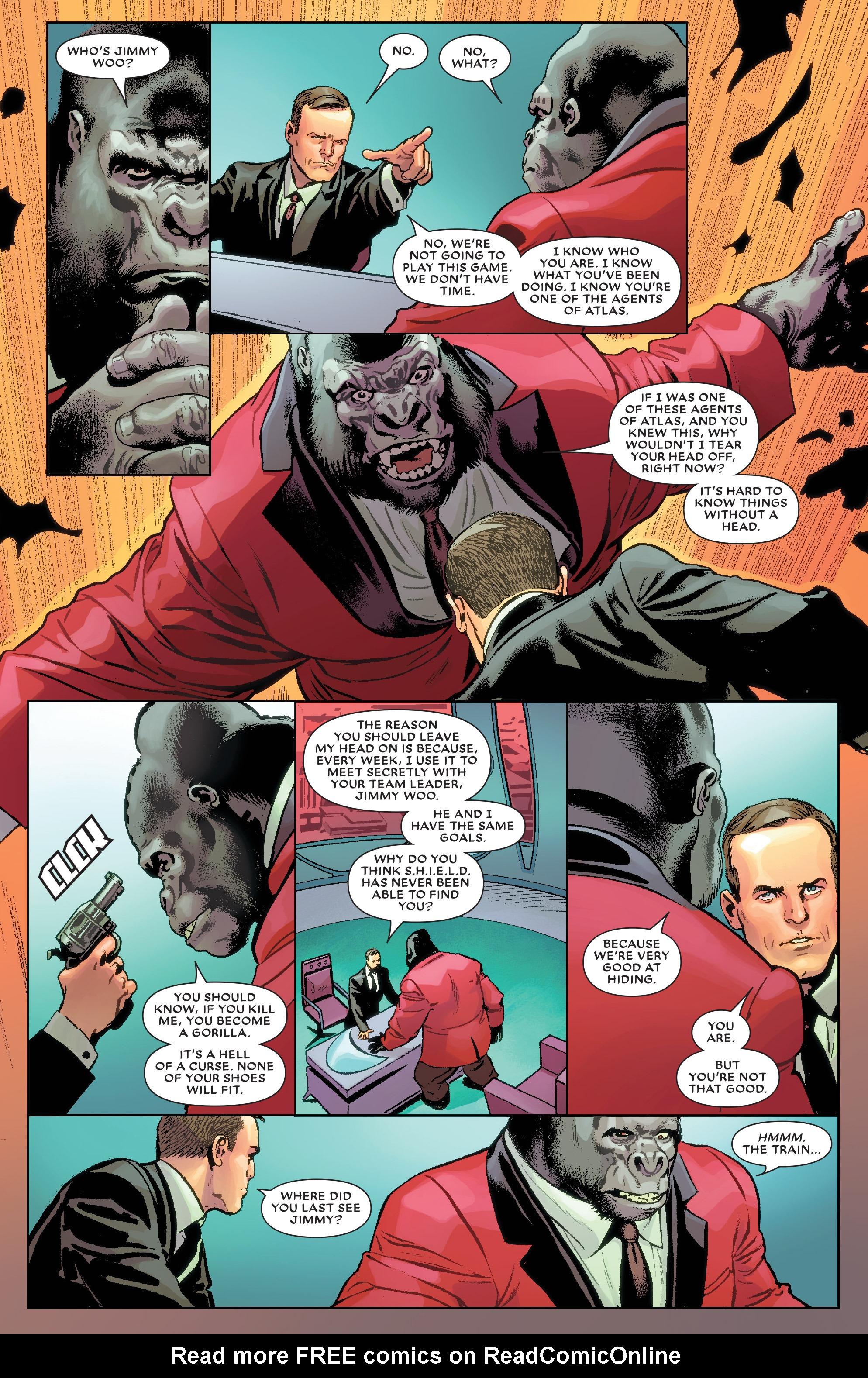 Read online Secret Wars: Agents of Atlas comic -  Issue # Full - 7