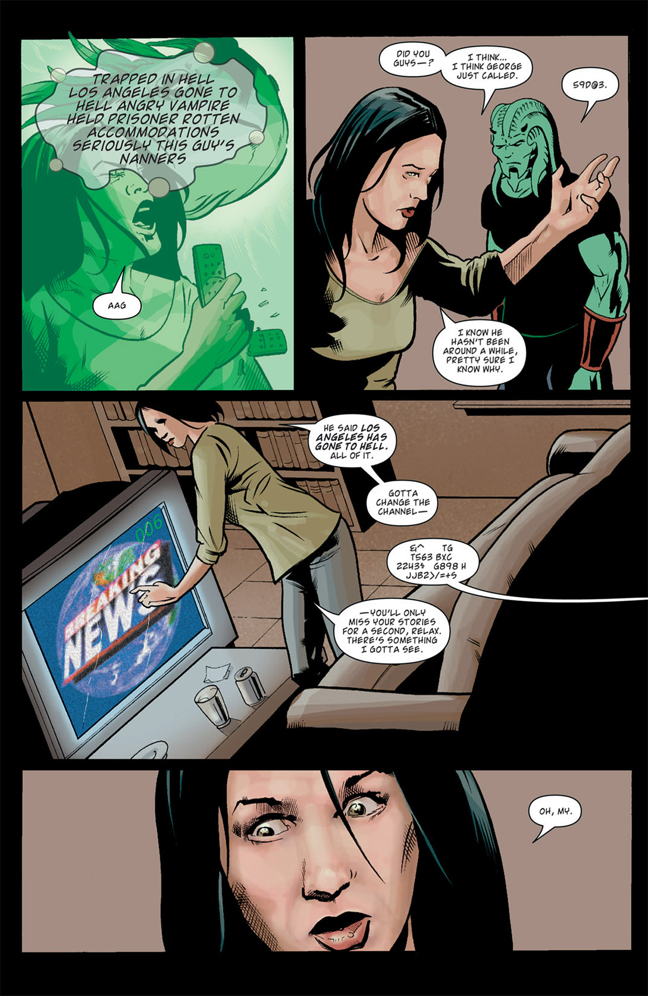 Read online Angel: After The Fall comic -  Issue #10 - 22