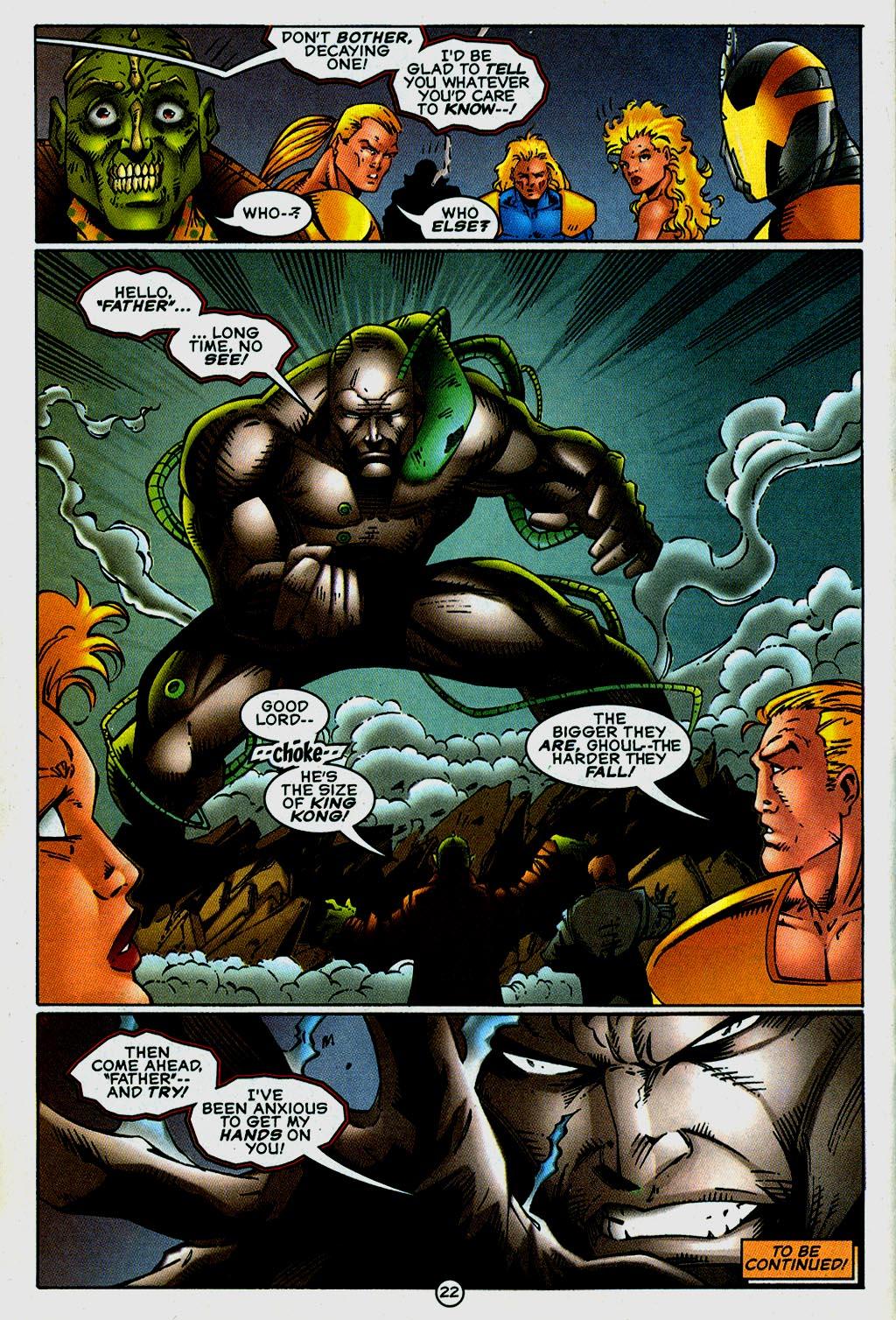 Read online UltraForce (1995) comic -  Issue #14 - 22