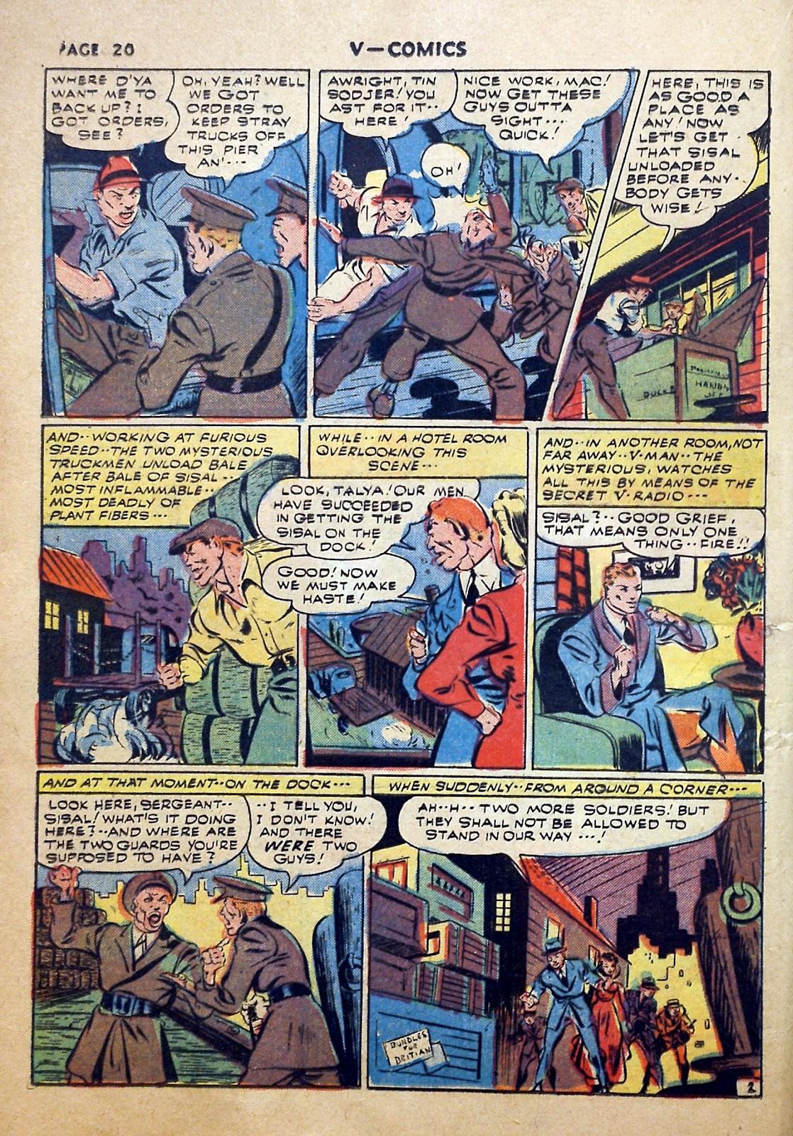 Read online V...- Comics comic -  Issue #2 - 21