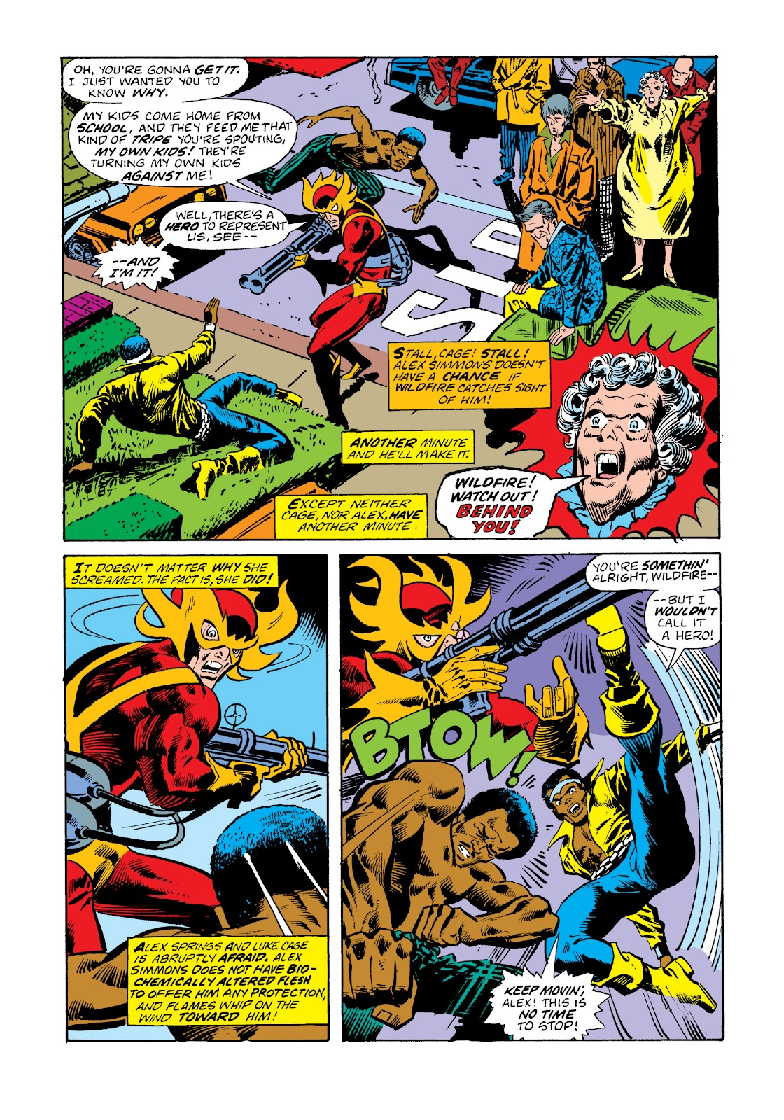 Read online Marvel Masterworks: Luke Cage, Power Man comic -  Issue # TPB 3 (Part 1) - 16
