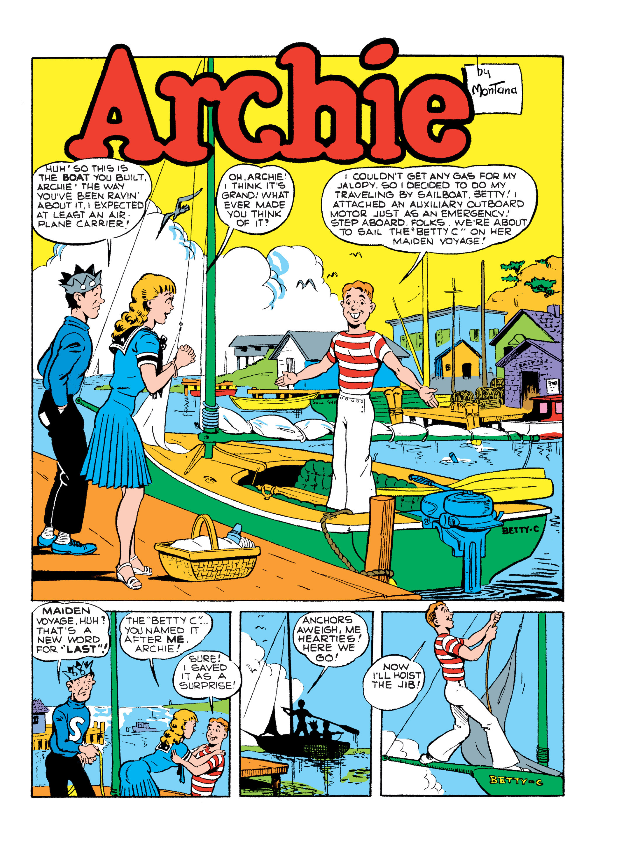 Read online Archie Giant Comics Collection comic -  Issue #Archie Giant Comics Collection TPB (Part 2) - 122