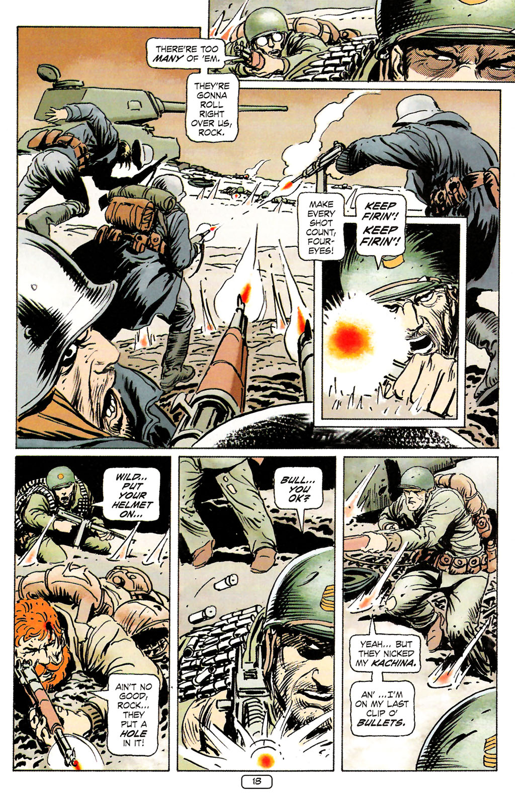 Read online Sgt. Rock: The Prophecy comic -  Issue #4 - 18