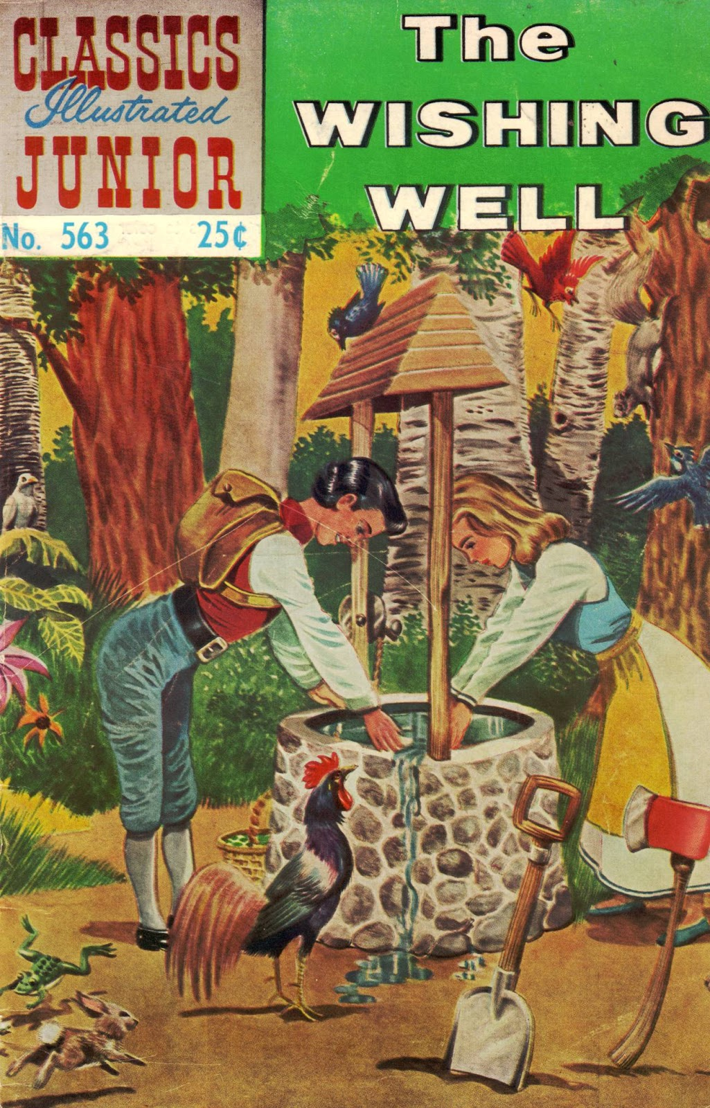 Classics Illustrated Junior 563 Page 1
