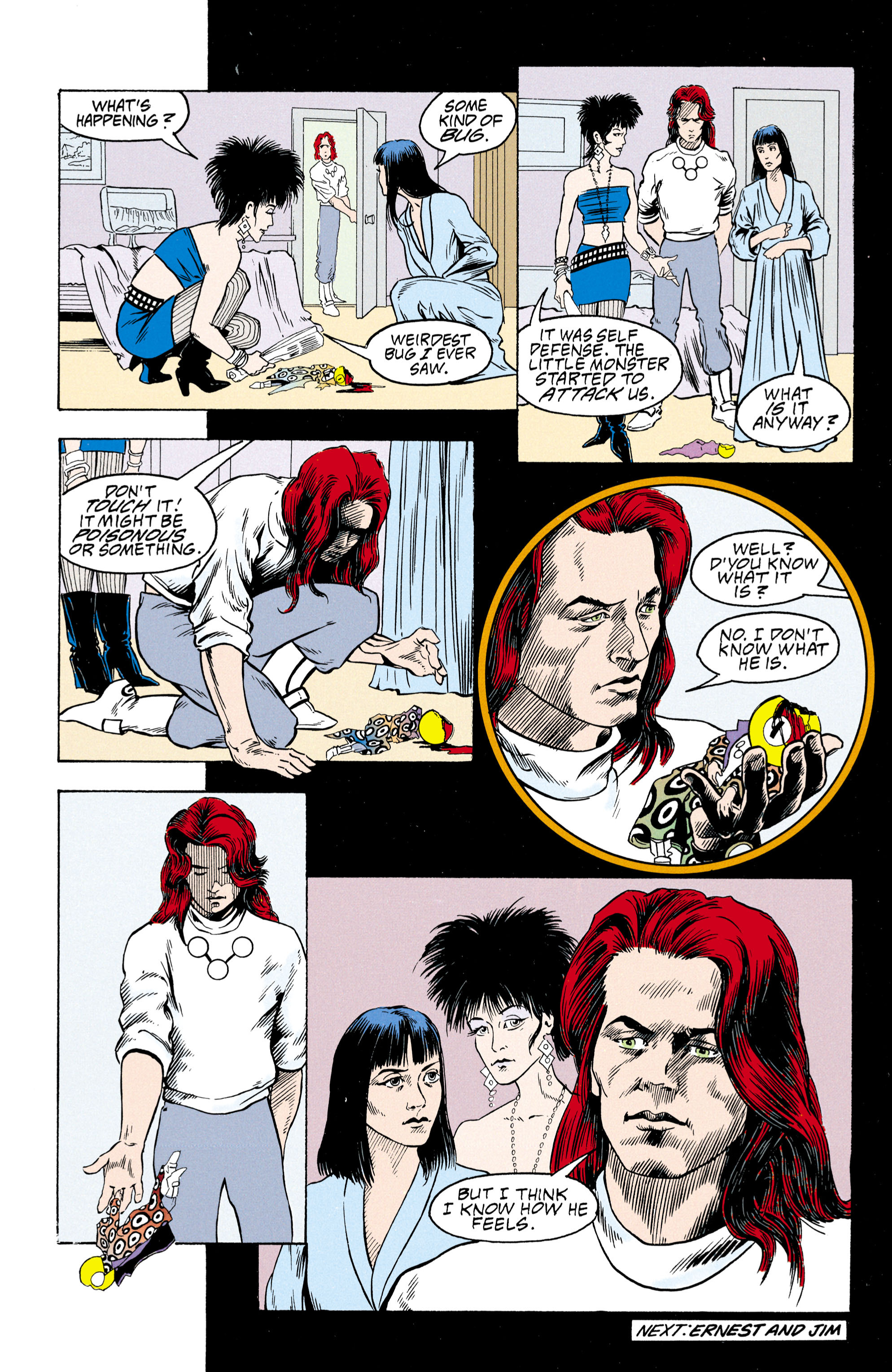 Read online Shade, the Changing Man comic -  Issue #30 - 25