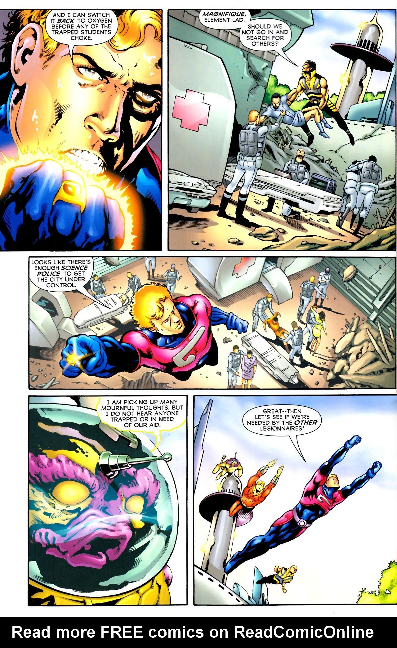 Read online Adventure Comics (1938) comic -  Issue #521 - 8