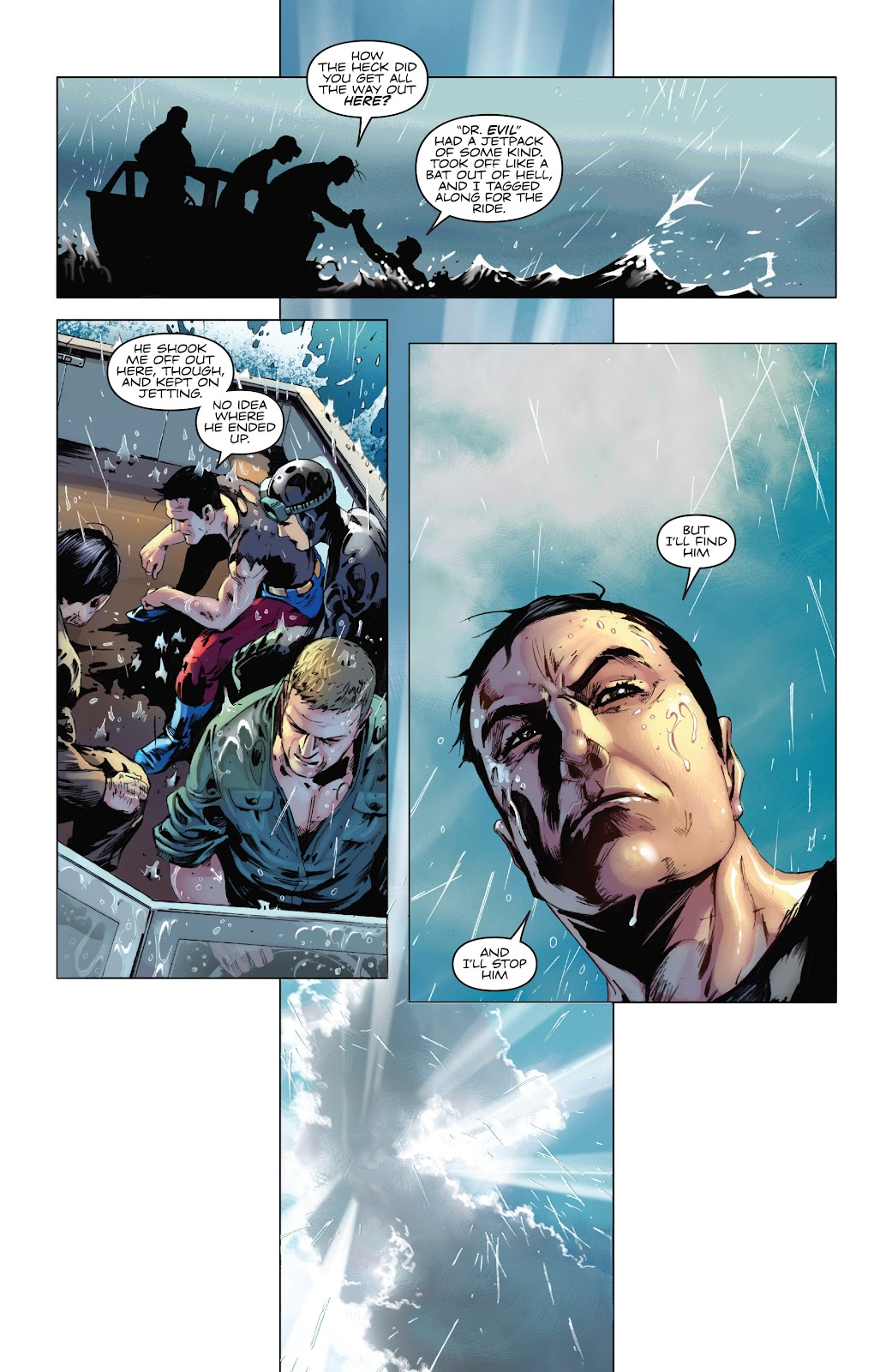 Read online Codename: Action comic -  Issue #5 - 24