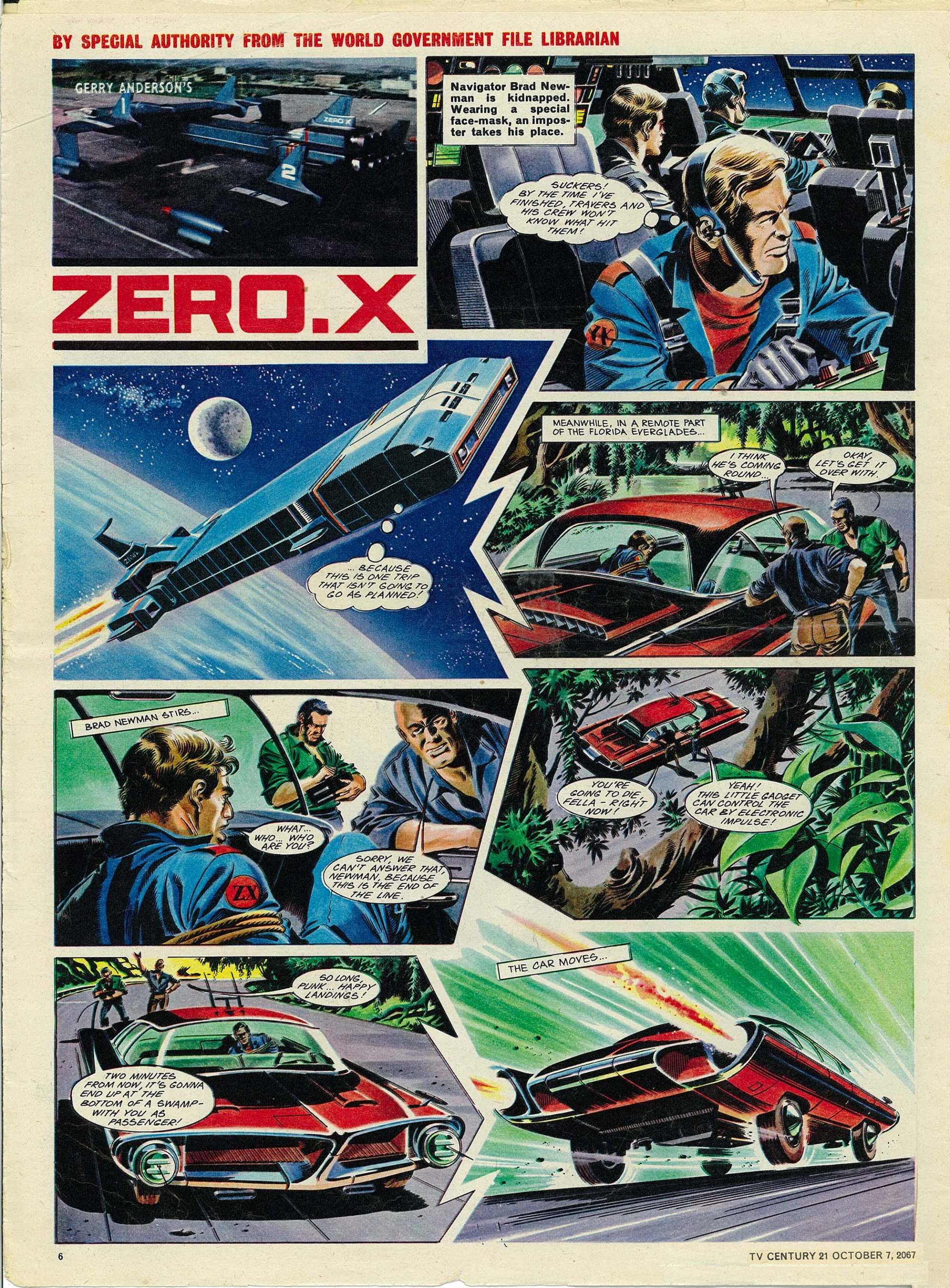 Read online TV Century 21 (TV 21) comic -  Issue #142 - 6