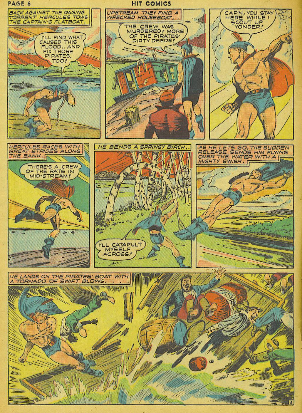 Read online Hit Comics comic -  Issue #13 - 8
