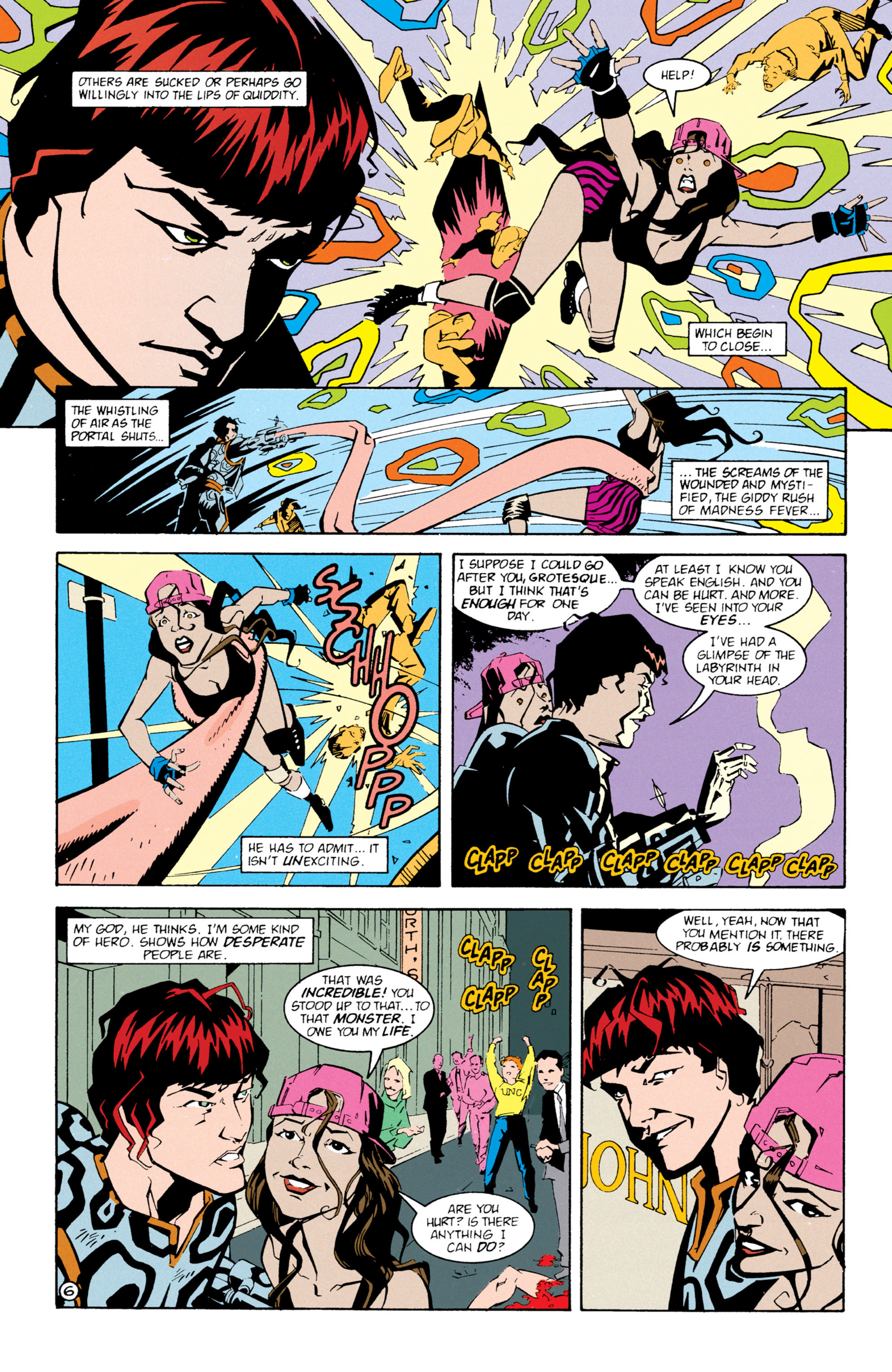Read online Shade, the Changing Man comic -  Issue #61 - 7