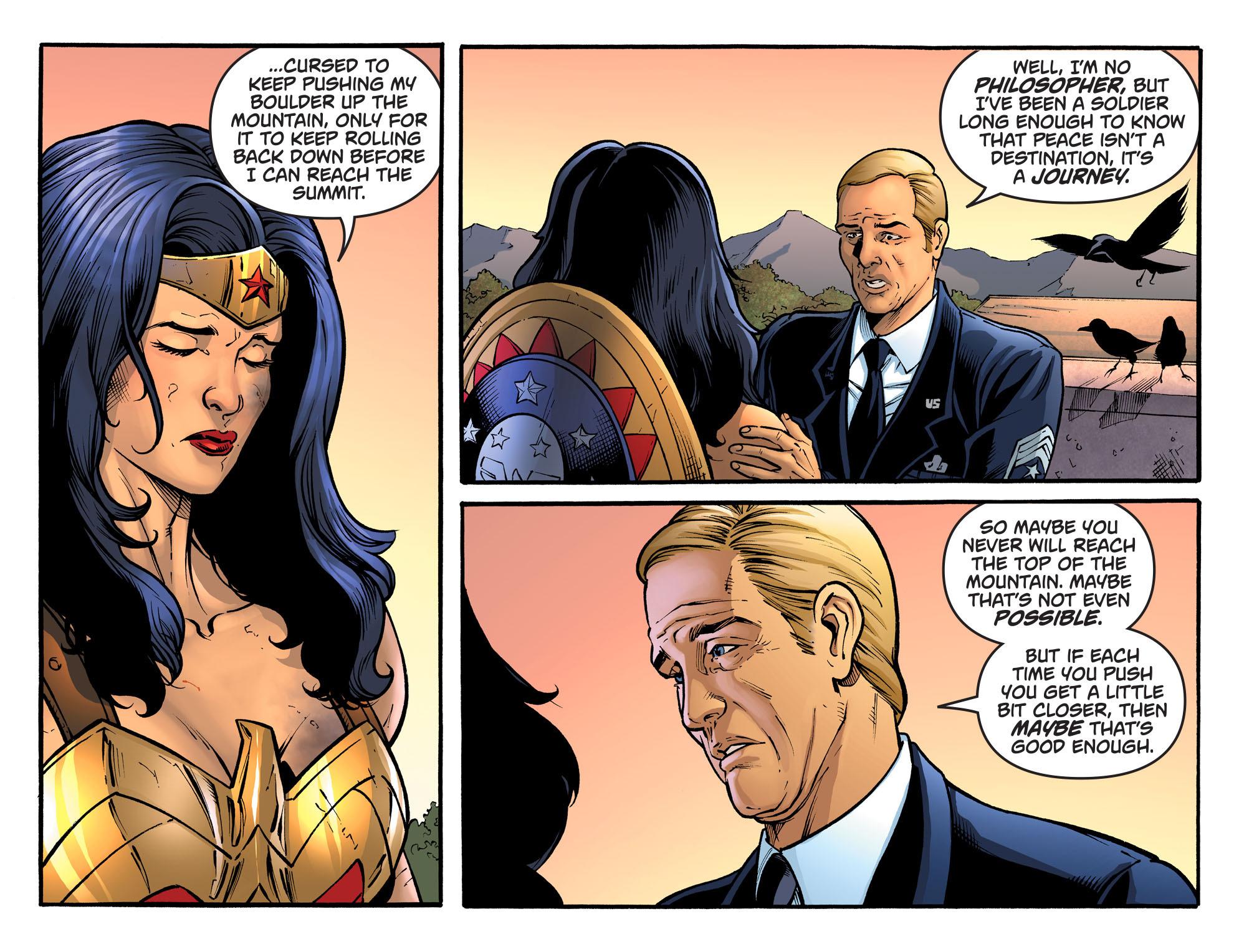 Read online Sensation Comics Featuring Wonder Woman comic -  Issue #33 - 13