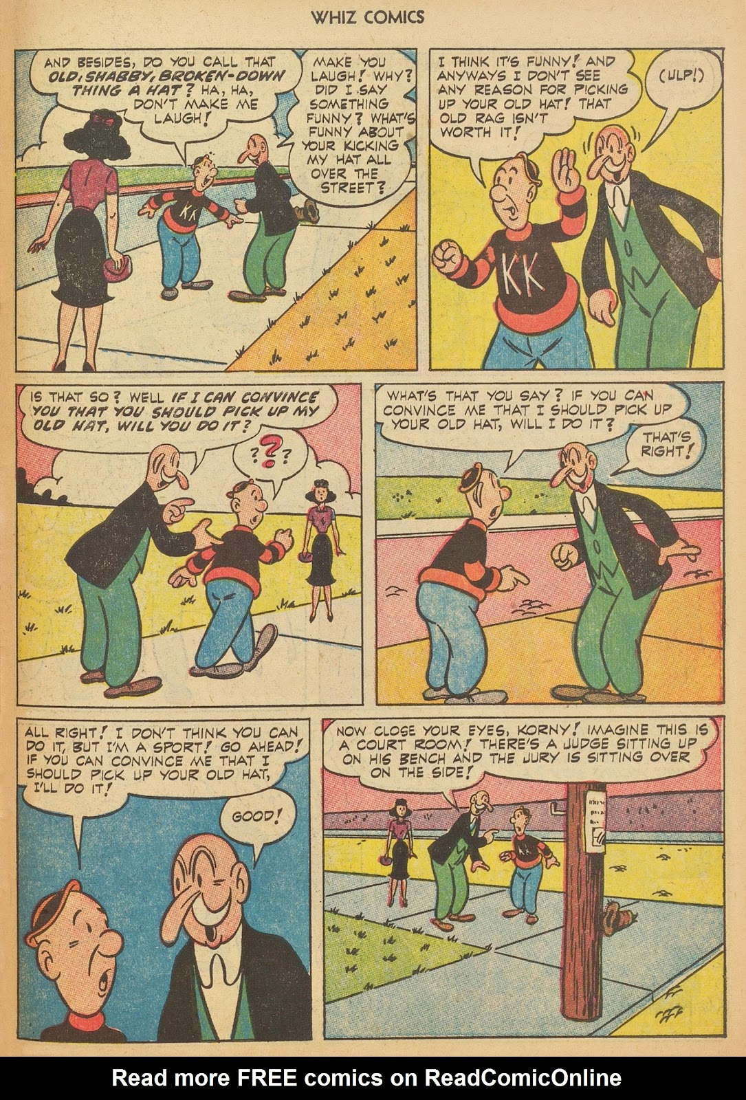 Read online WHIZ Comics comic -  Issue #153 - 27