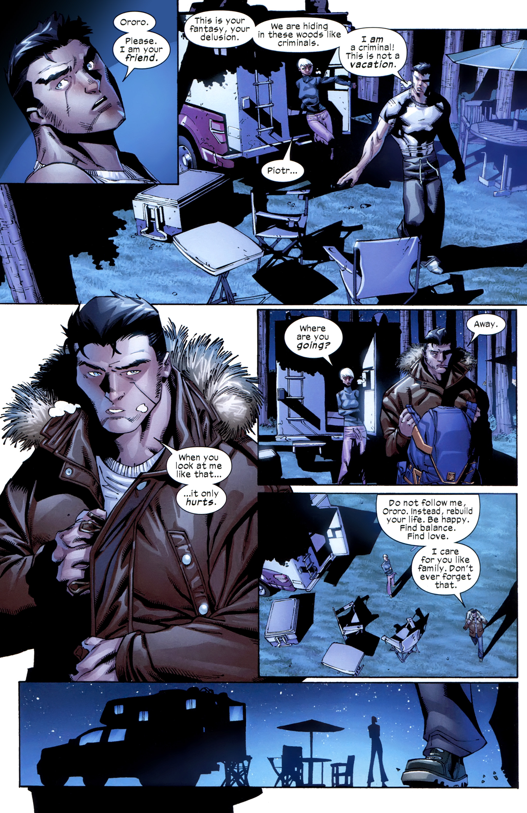 Read online Ultimate Comics X-Men comic -  Issue #23 - 9