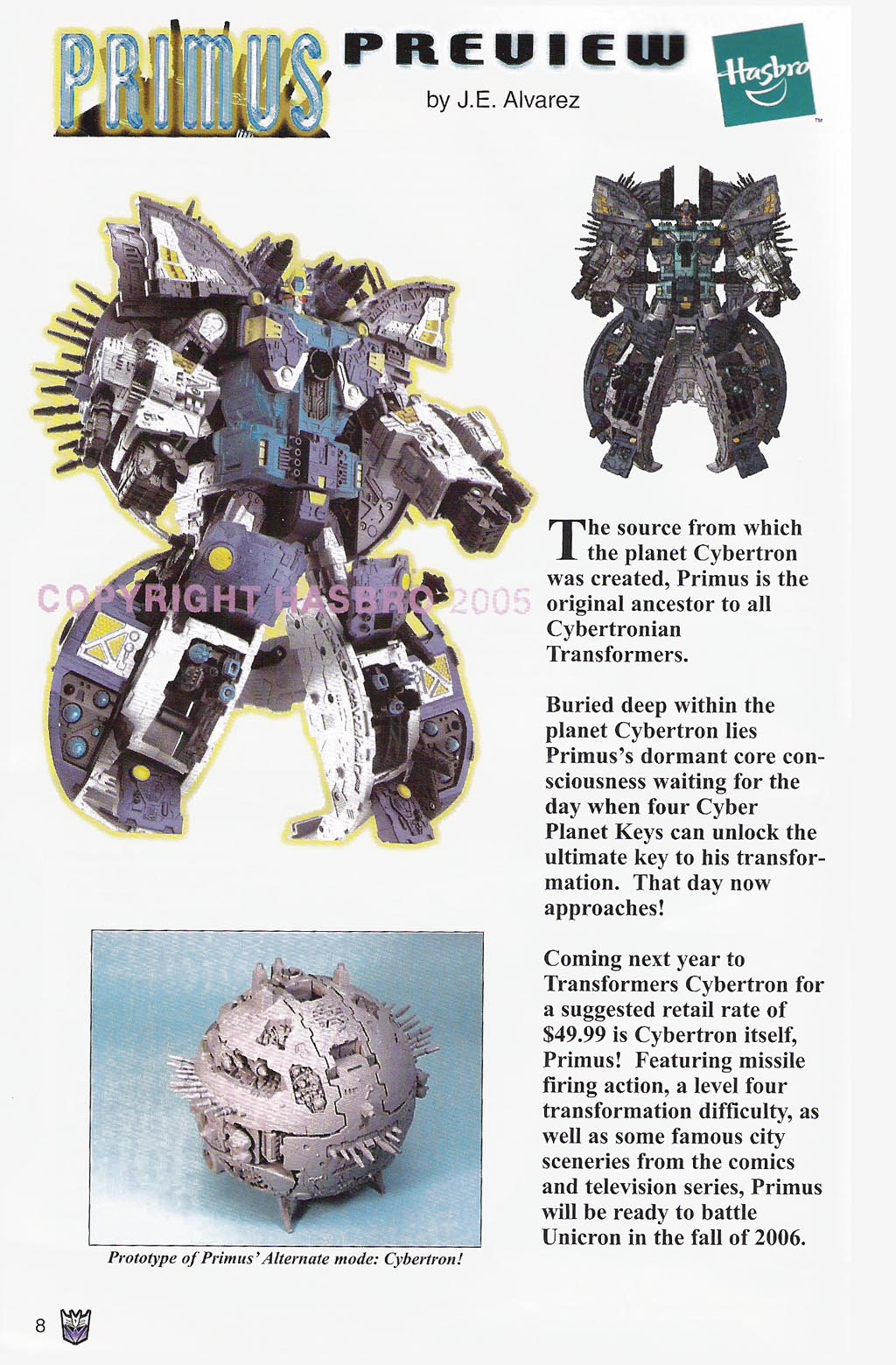 Read online Transformers: Collectors' Club comic -  Issue #4 - 8