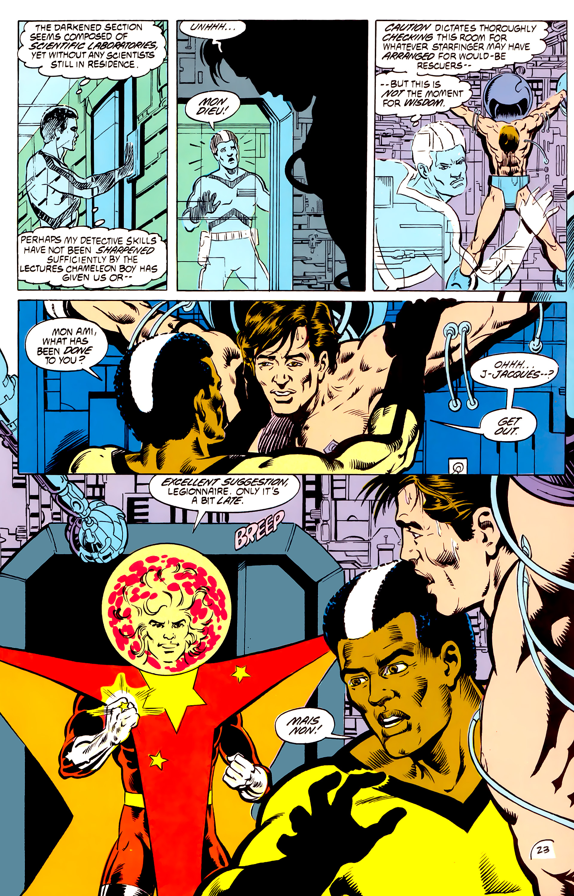 Legion of Super-Heroes (1984) _Annual_4 Page 23