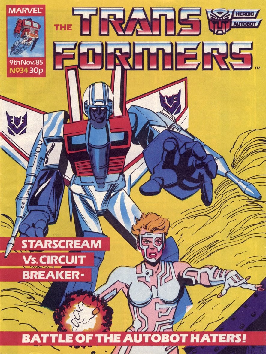 The Transformers (UK) 34 Page 1