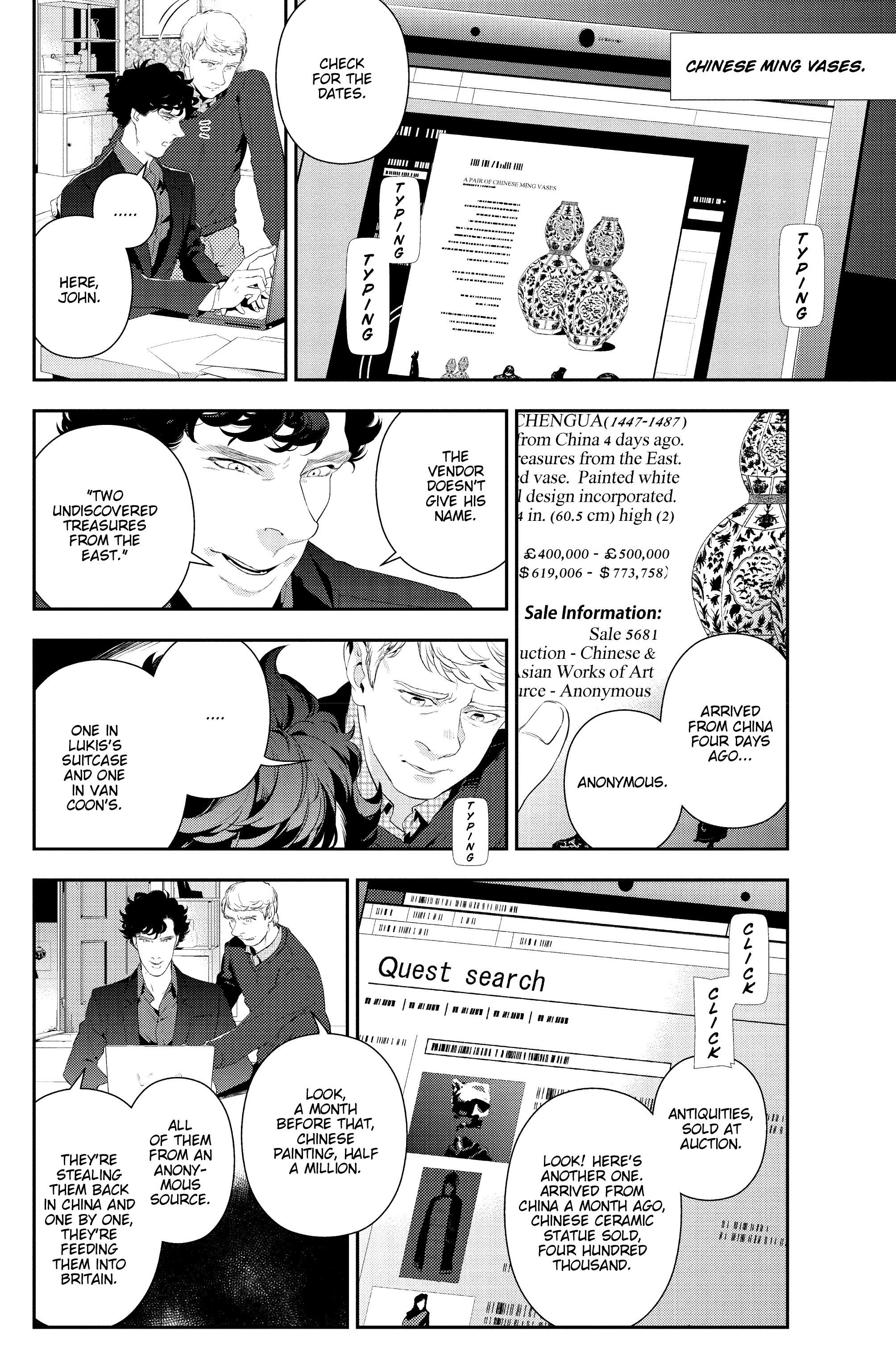 Read online Sherlock: The Blind Banker comic -  Issue #5 - 7