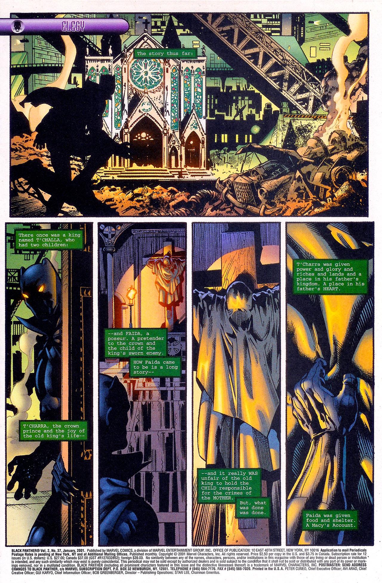Black Panther (1998) 37 Page 2