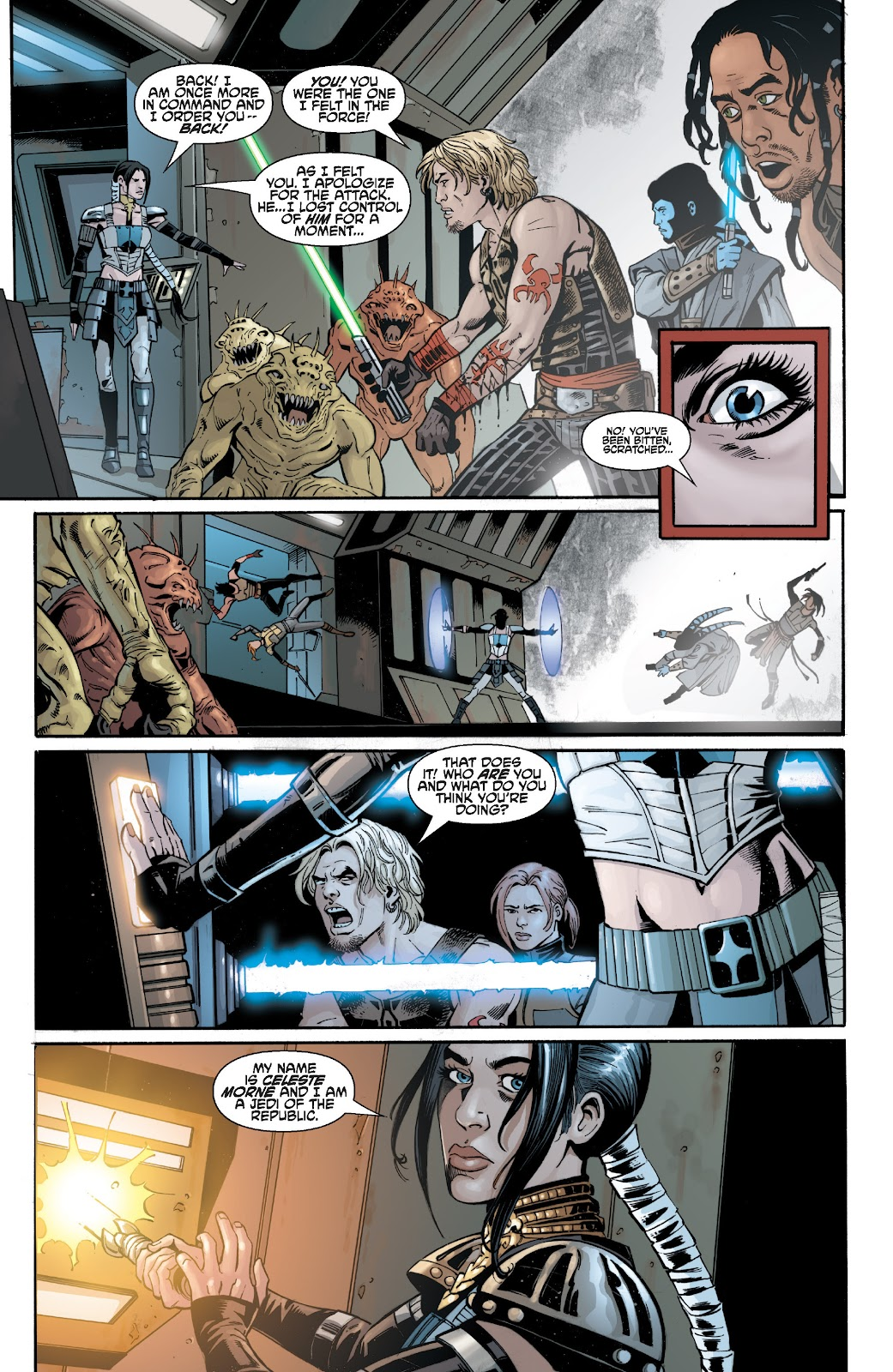 Read online Star Wars Legends: Legacy - Epic Collection comic -  Issue # TPB 2 (Part 3) - 12