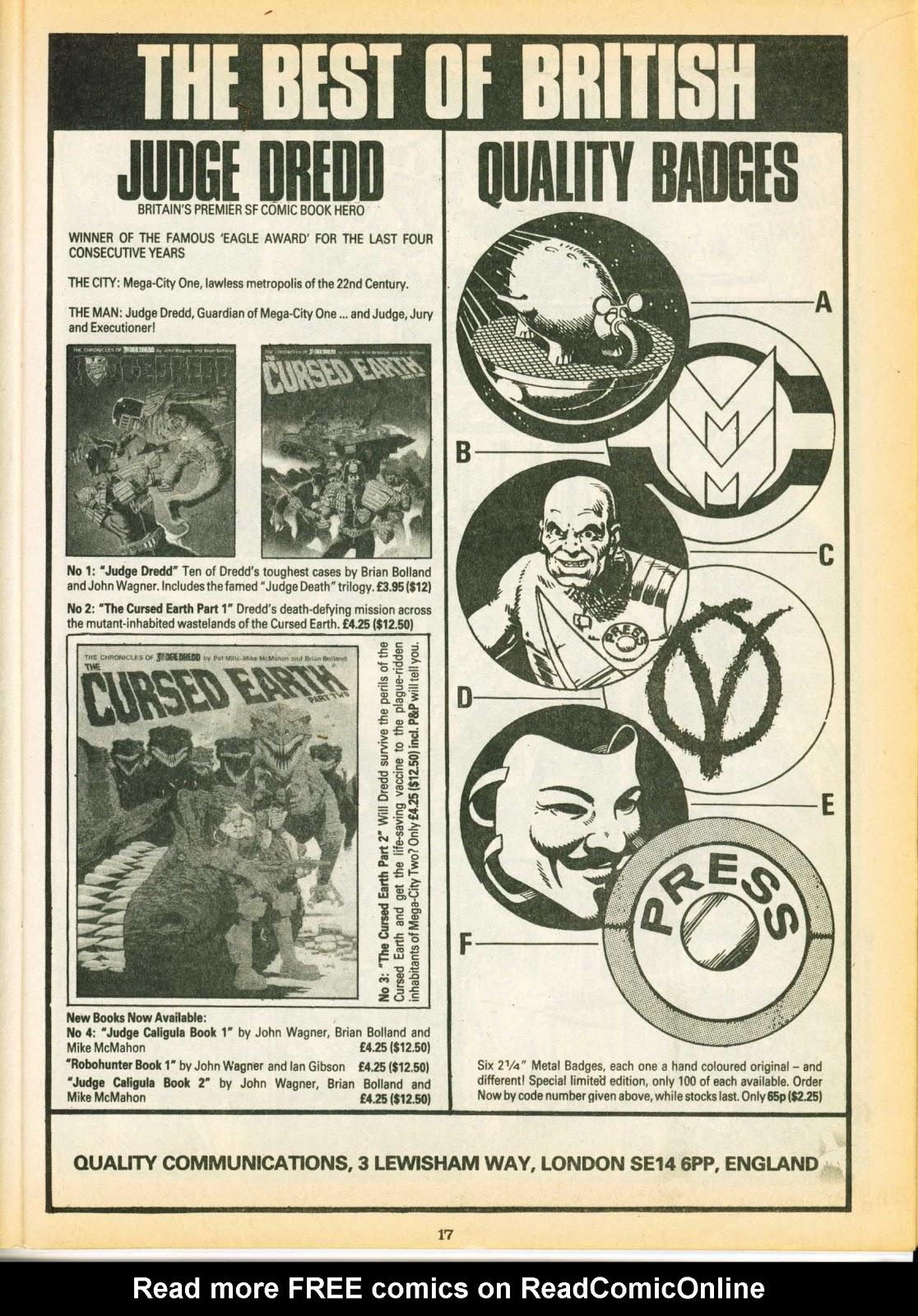 Warrior Issue #8 #9 - English 17