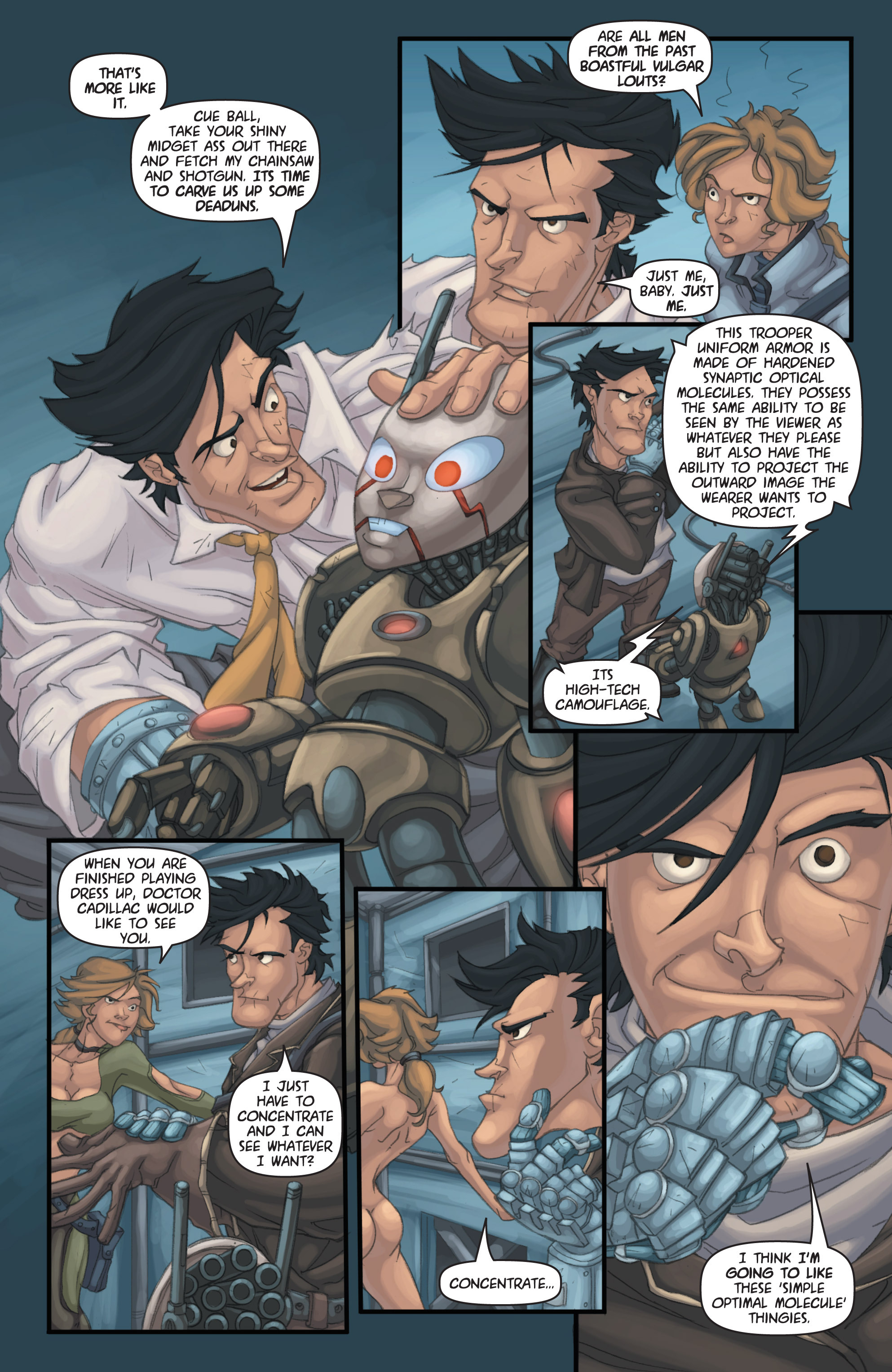 Read online Army of Darkness: Shop Till You Drop Dead comic -  Issue #Army of Darkness: Shop Till You Drop Dead TPB - 72