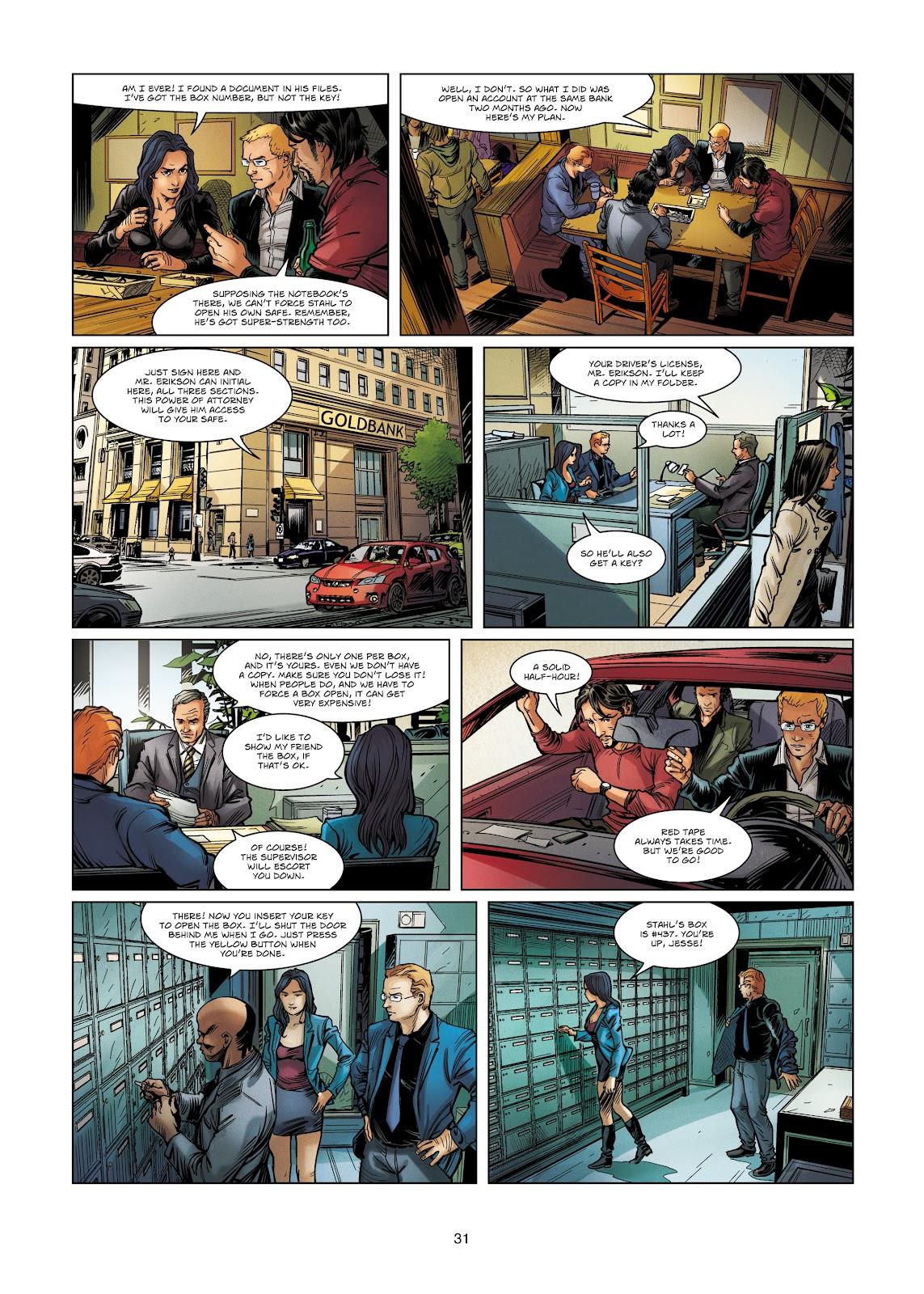 Read online Vigilantes comic -  Issue #4 - 31