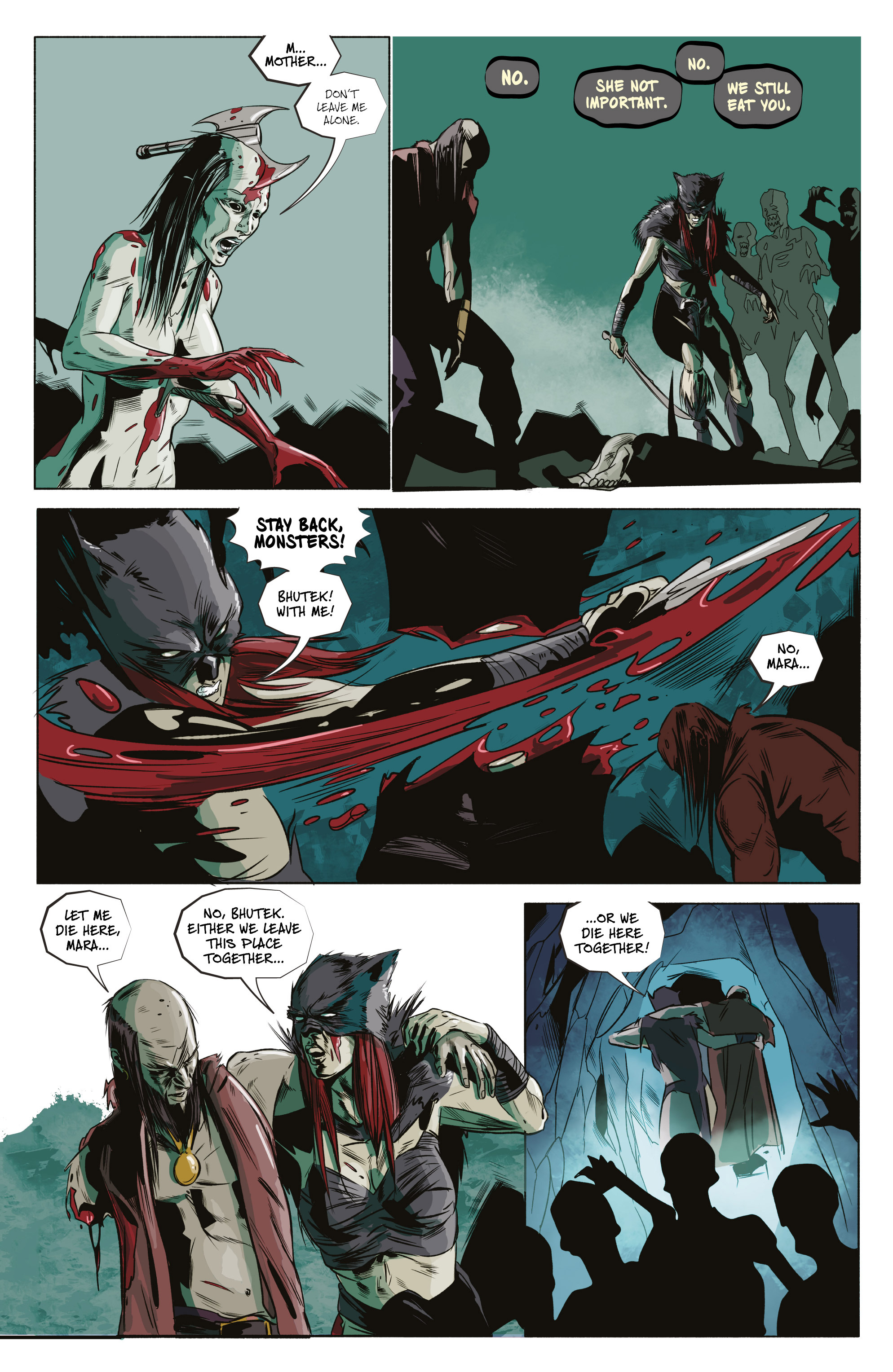 Read online Ghost Wolf comic -  Issue #4 - 25