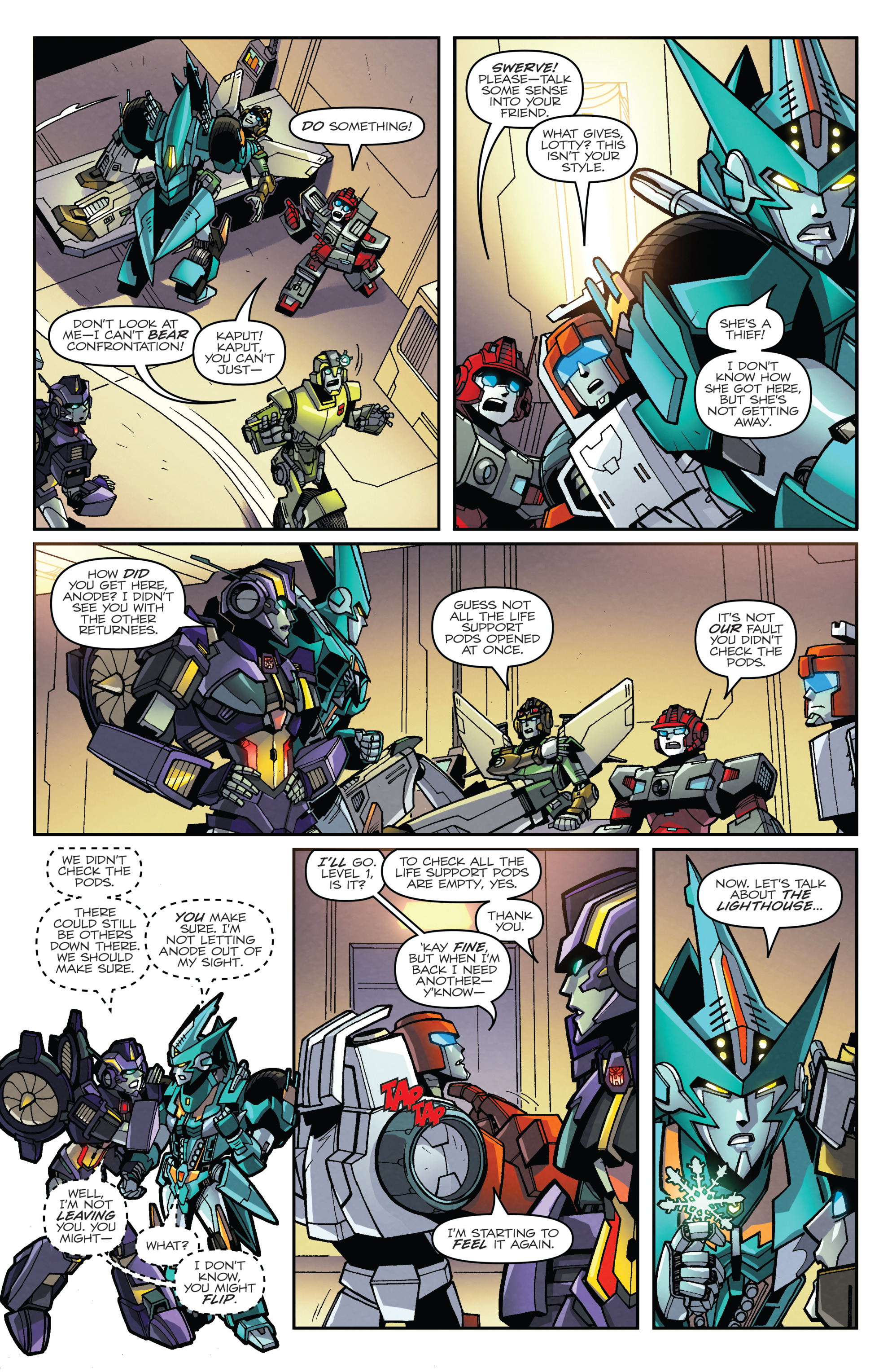 Read online Transformers: Lost Light comic -  Issue #2 - 18