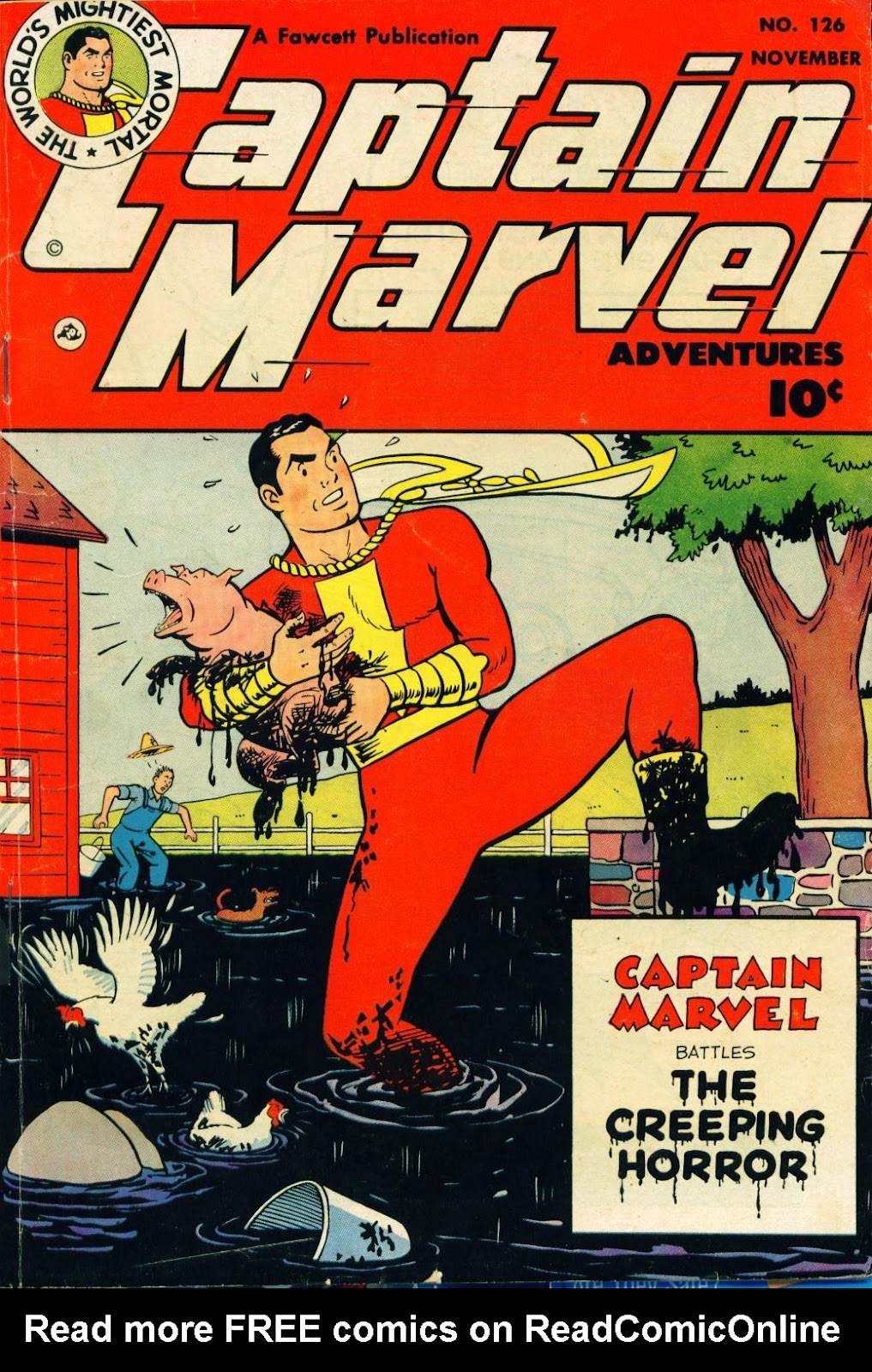 Captain Marvel Adventures issue 126 - Page 1