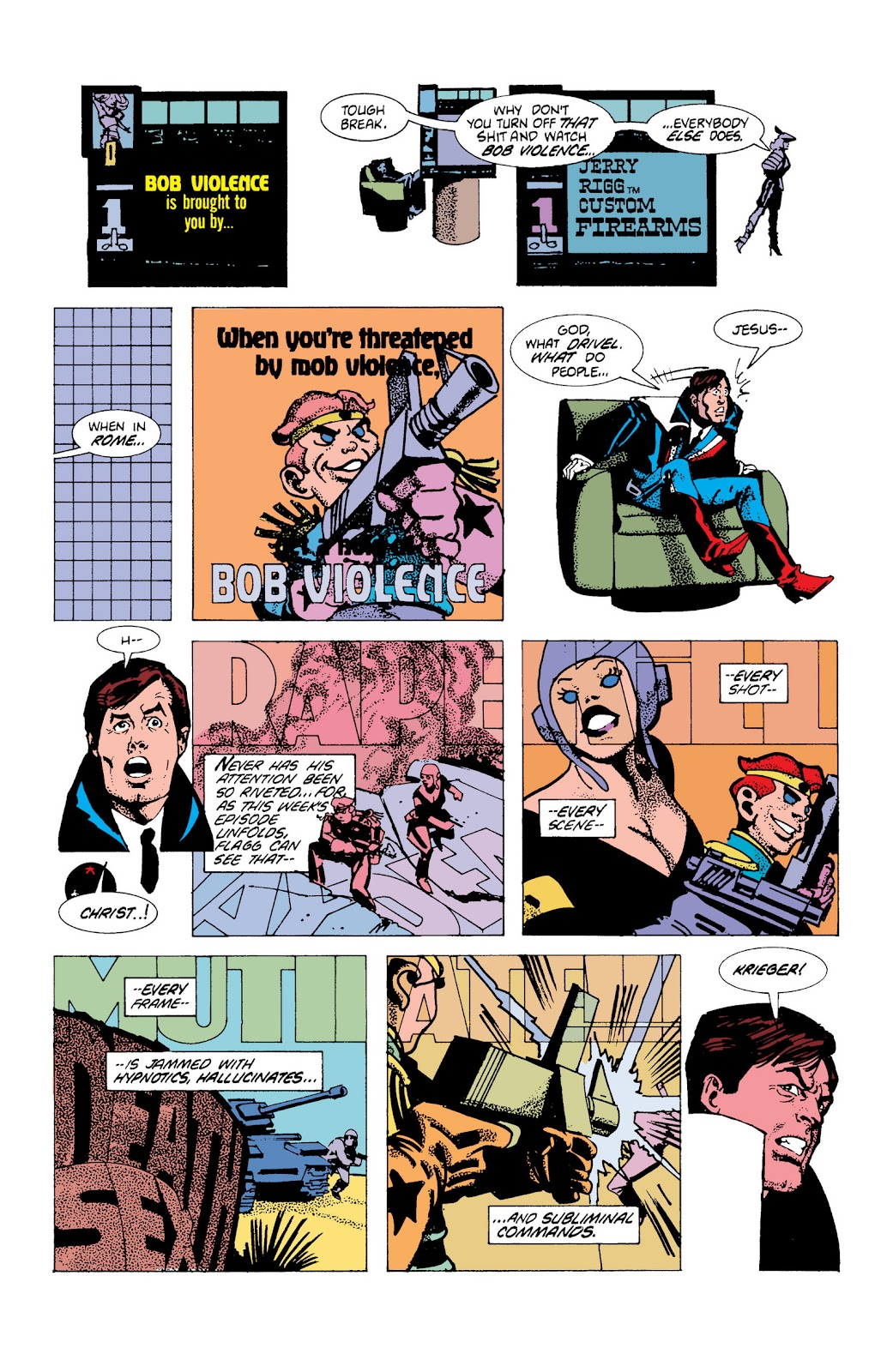 American Flagg! issue Definitive Collection (Part 1) - Page 40