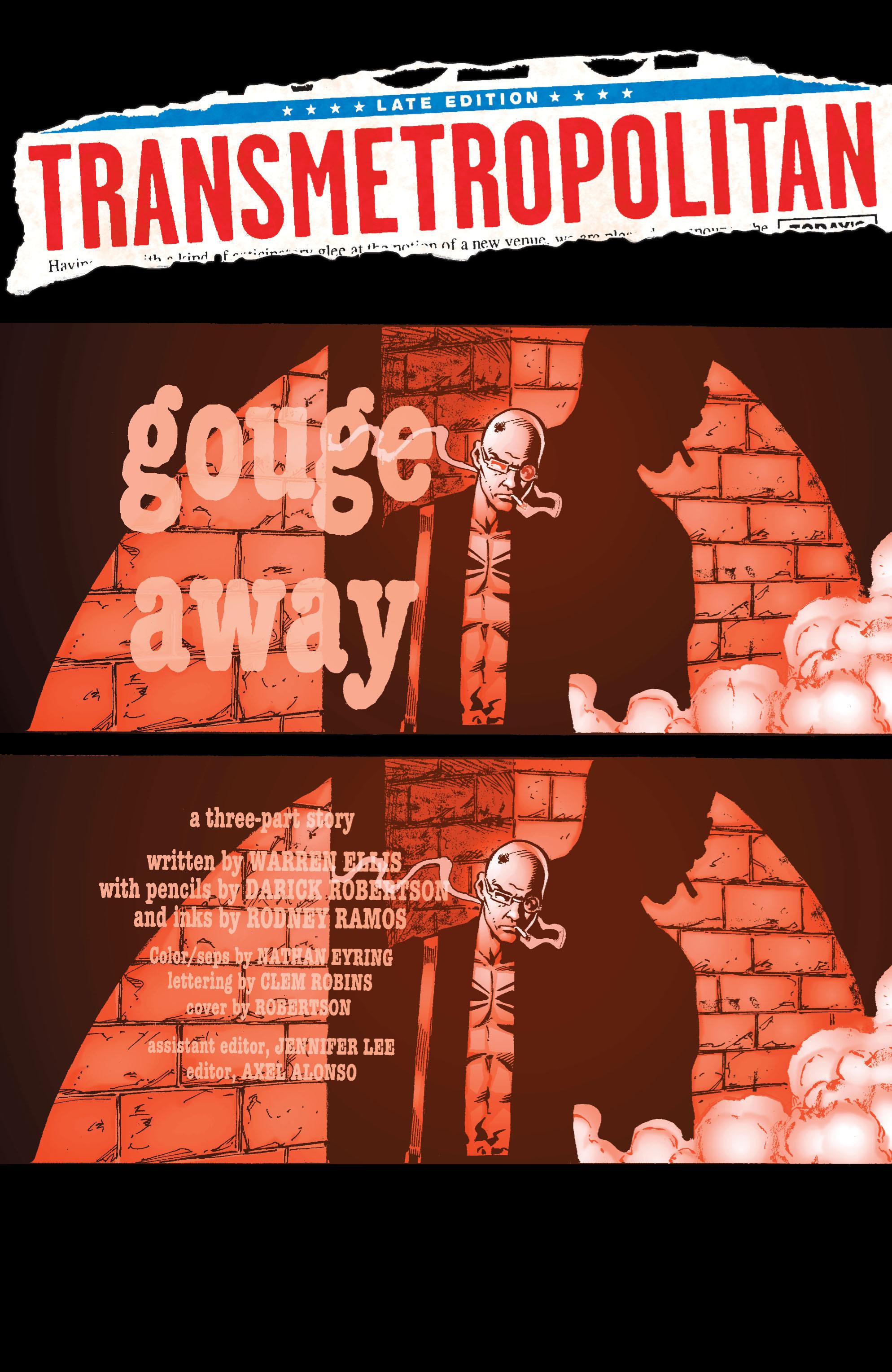 Read online Transmetropolitan comic -  Issue #34 - 2