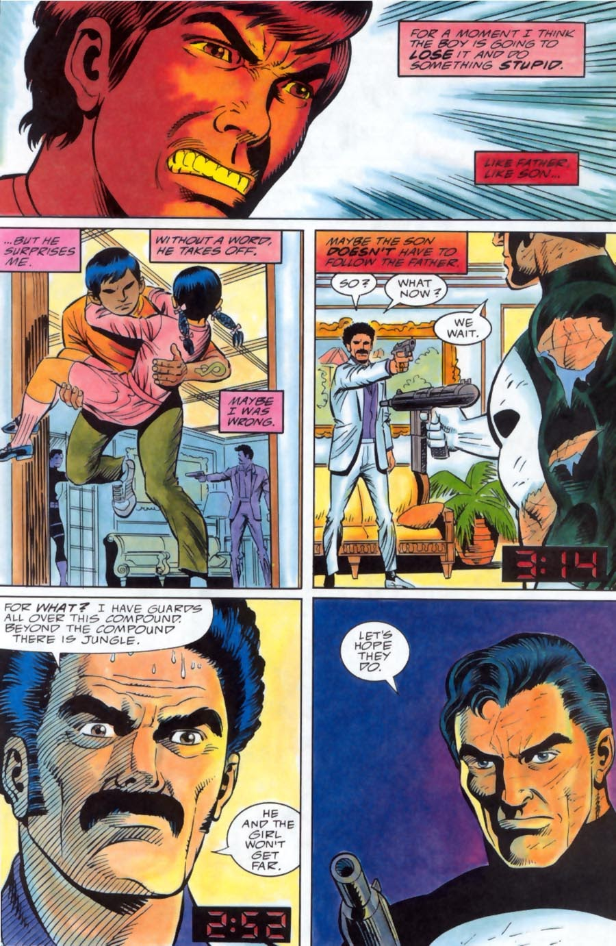 Read online Punisher Bloodlines comic -  Issue # Full - 54