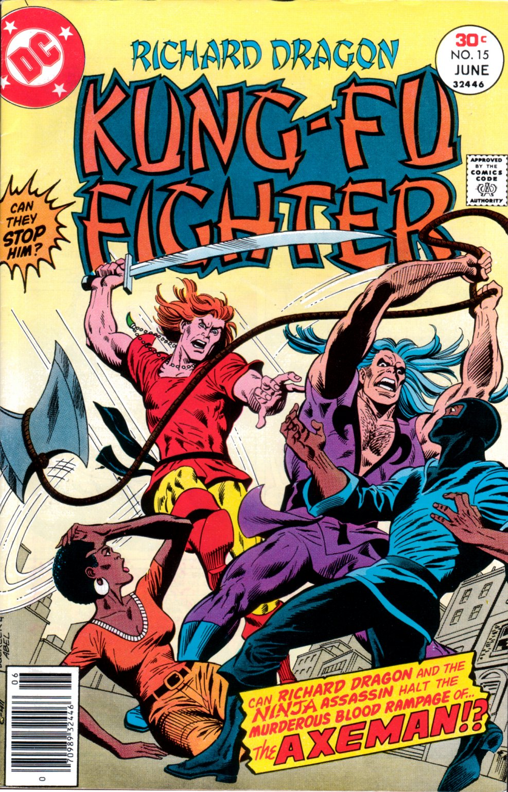 Richard Dragon, Kung-Fu Fighter 15 Page 1