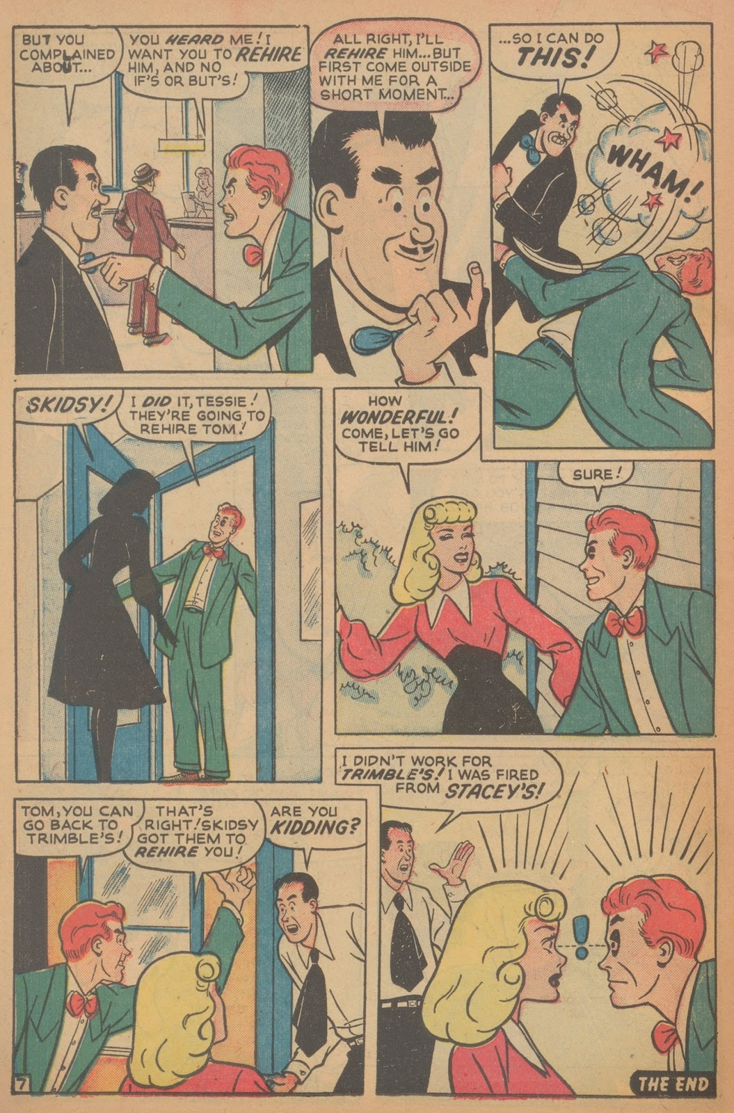 Read online Nellie The Nurse (1945) comic -  Issue #18 - 38