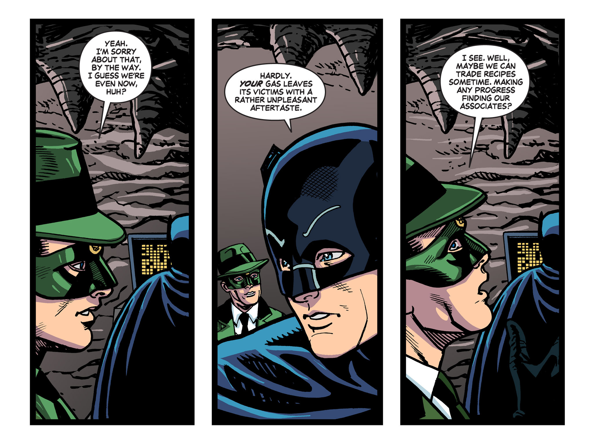 Read online Batman '66 Meets the Green Hornet [II] comic -  Issue #5 - 55