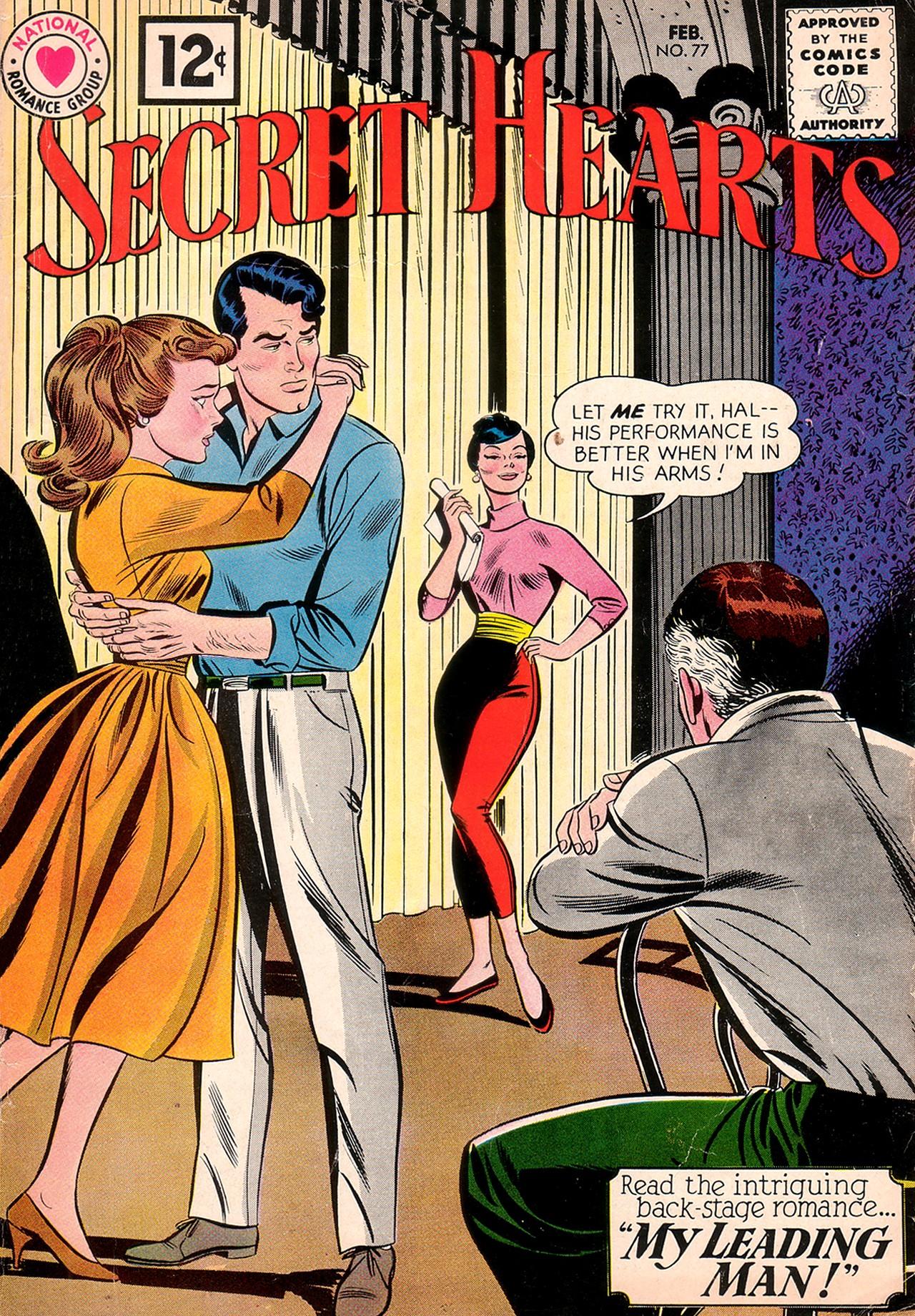 Read online Secret Hearts comic -  Issue #77 - 1