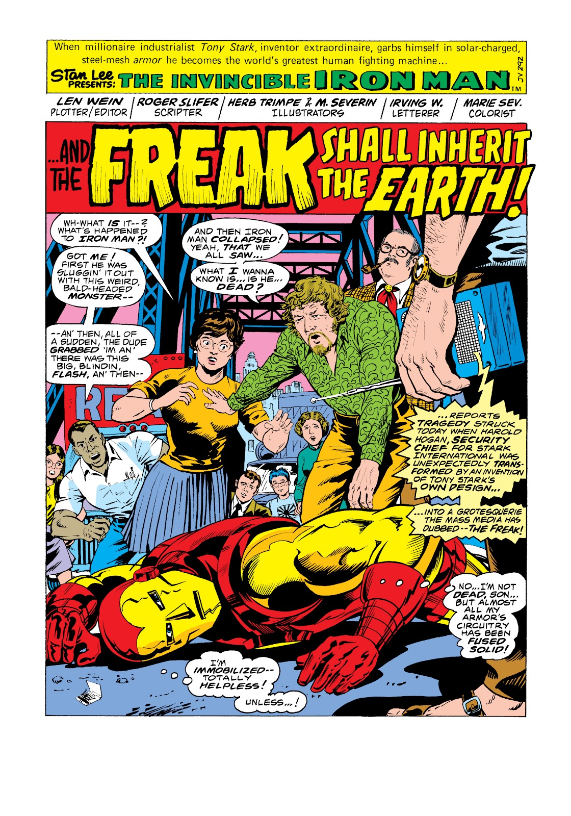 Read online Marvel Masterworks: The Invincible Iron Man comic -  Issue # TPB 11 (Part 1) - 67