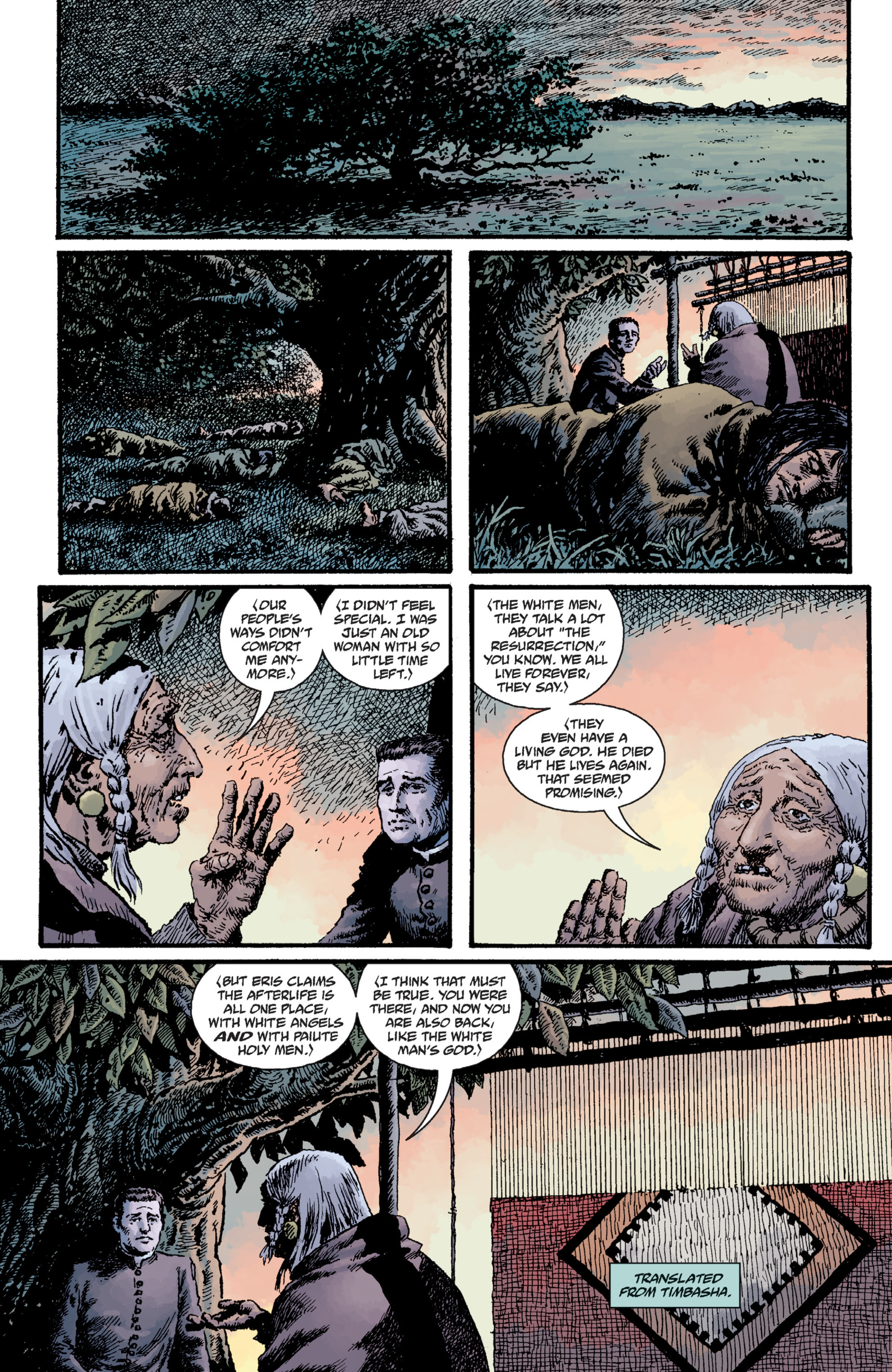 Read online Sir Edward Grey, Witchfinder: Lost and Gone Forever comic -  Issue # TPB - 77