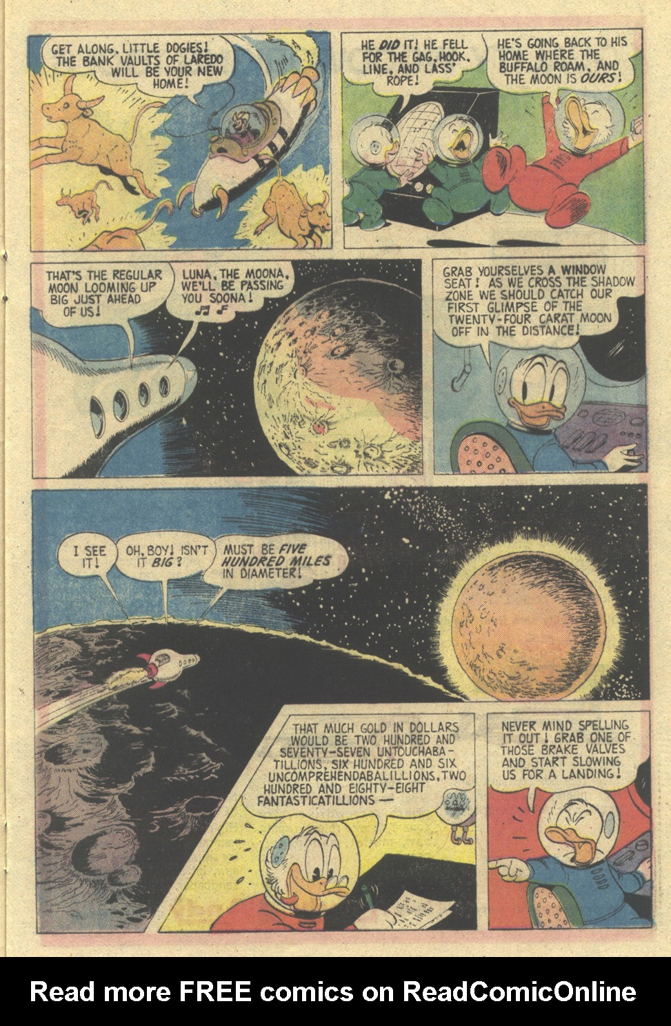 Read online Uncle Scrooge (1953) comic -  Issue #135 - 17