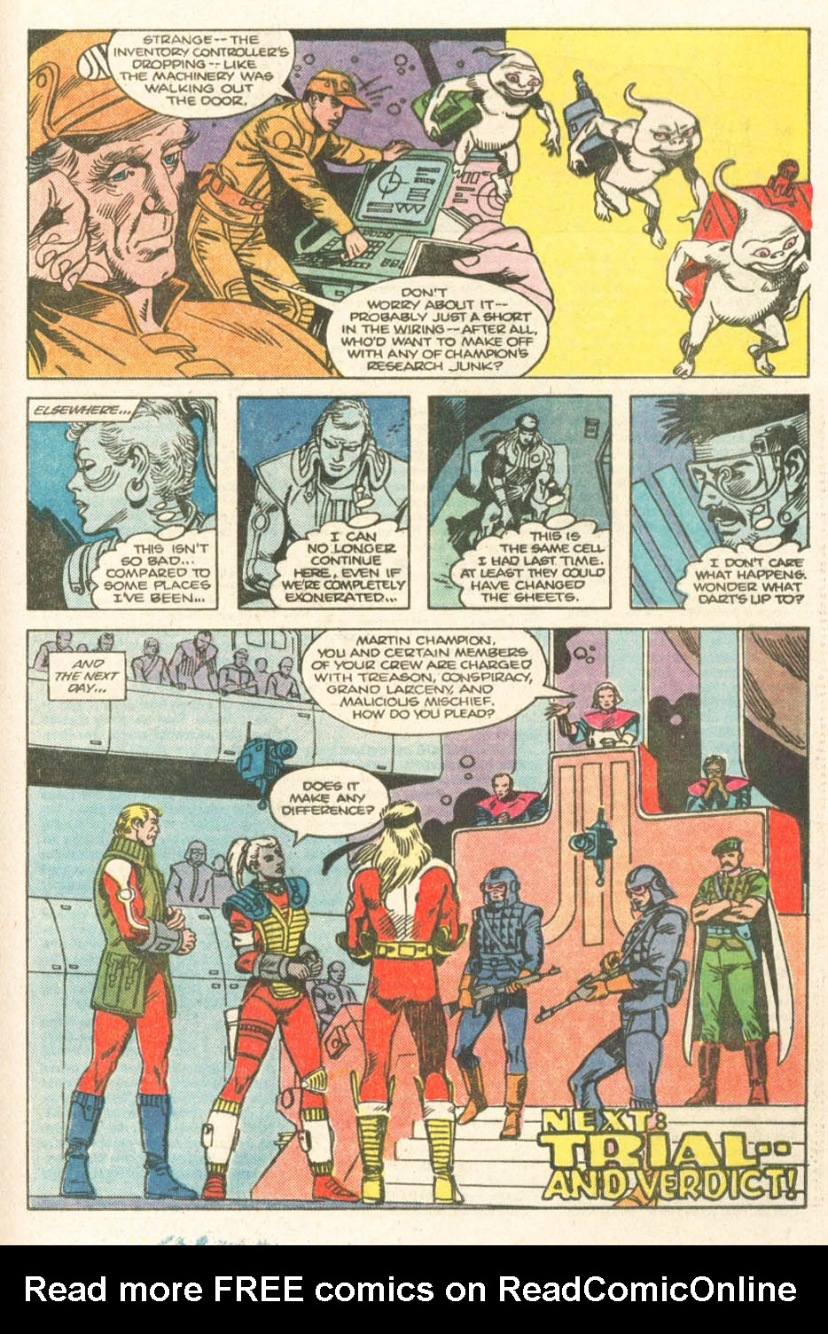 Read online Atari Force (1984) comic -  Issue #19 - 18