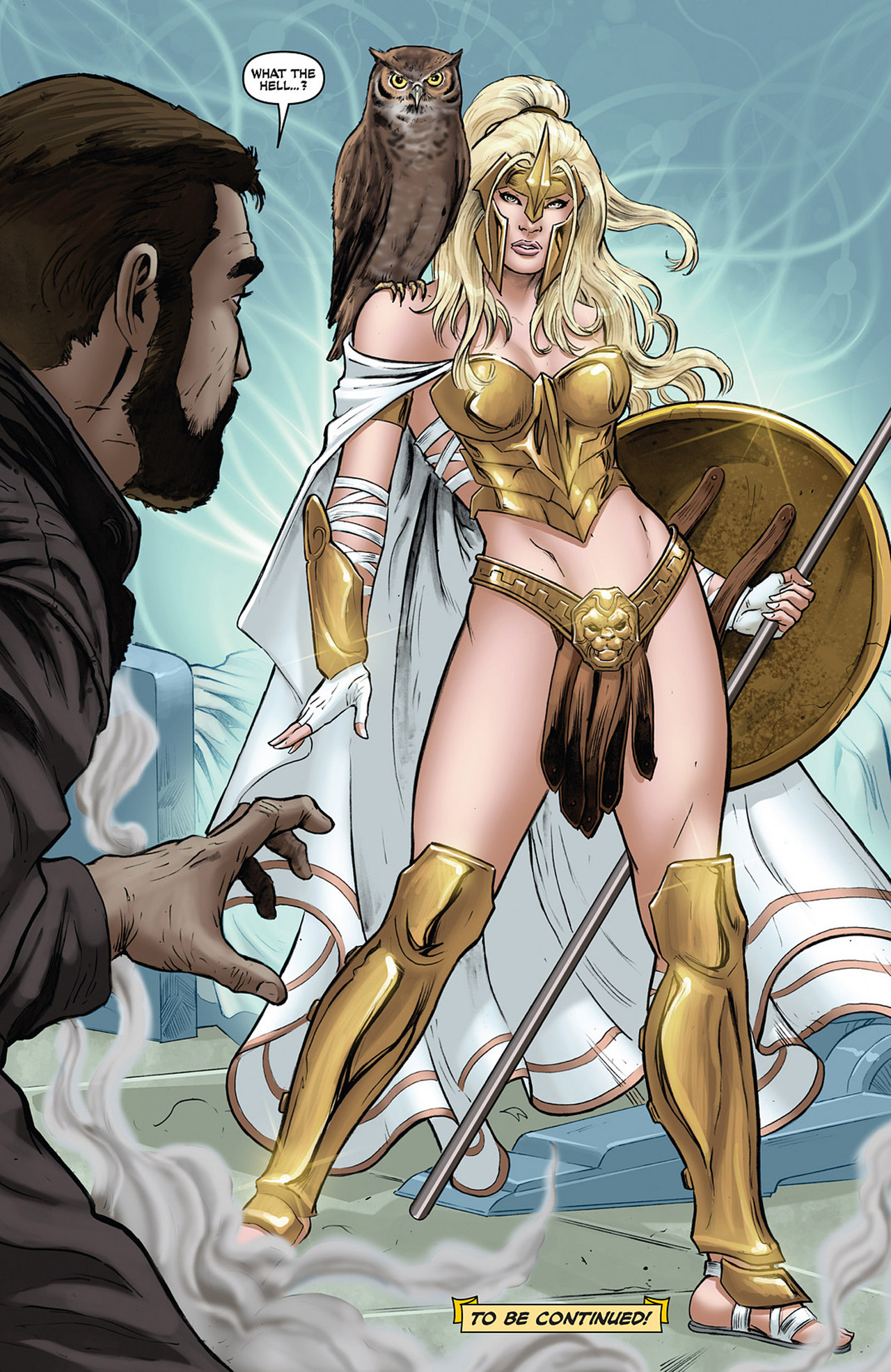 Read online Athena comic -  Issue #1 - 27