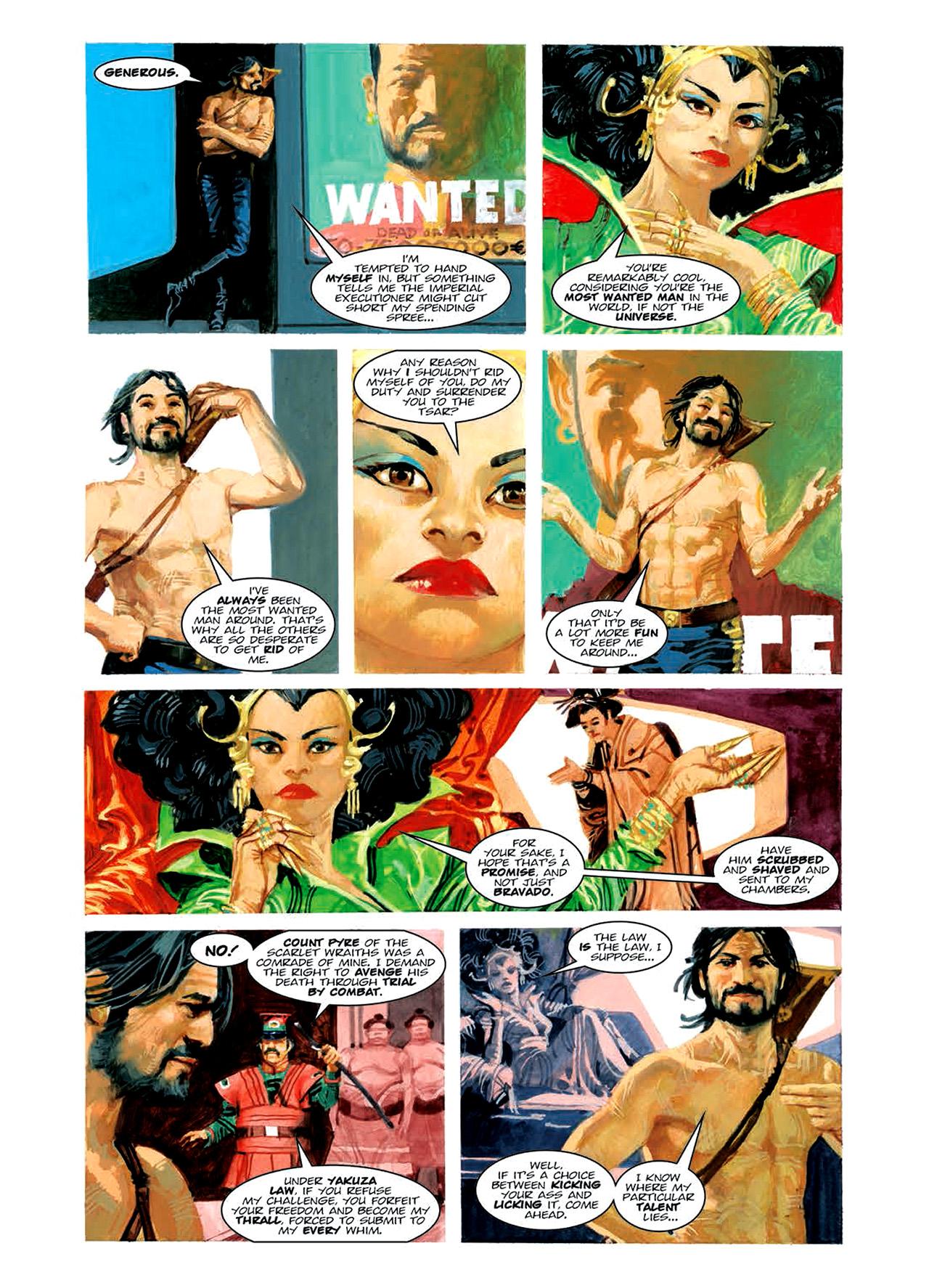 Read online Nikolai Dante comic -  Issue # TPB 6 - 107