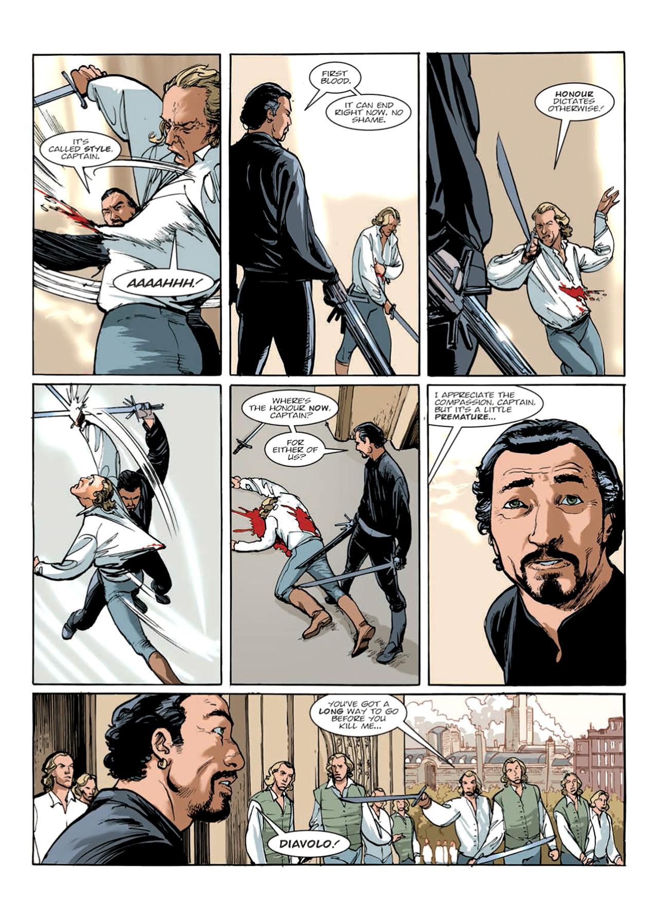 Read online Nikolai Dante comic -  Issue # TPB 9 - 138
