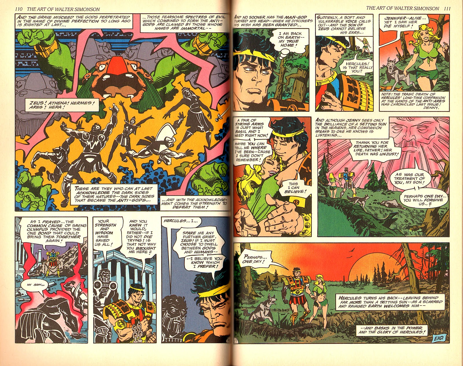 Read online The Art of Walter Simonson comic -  Issue # TPB - 57